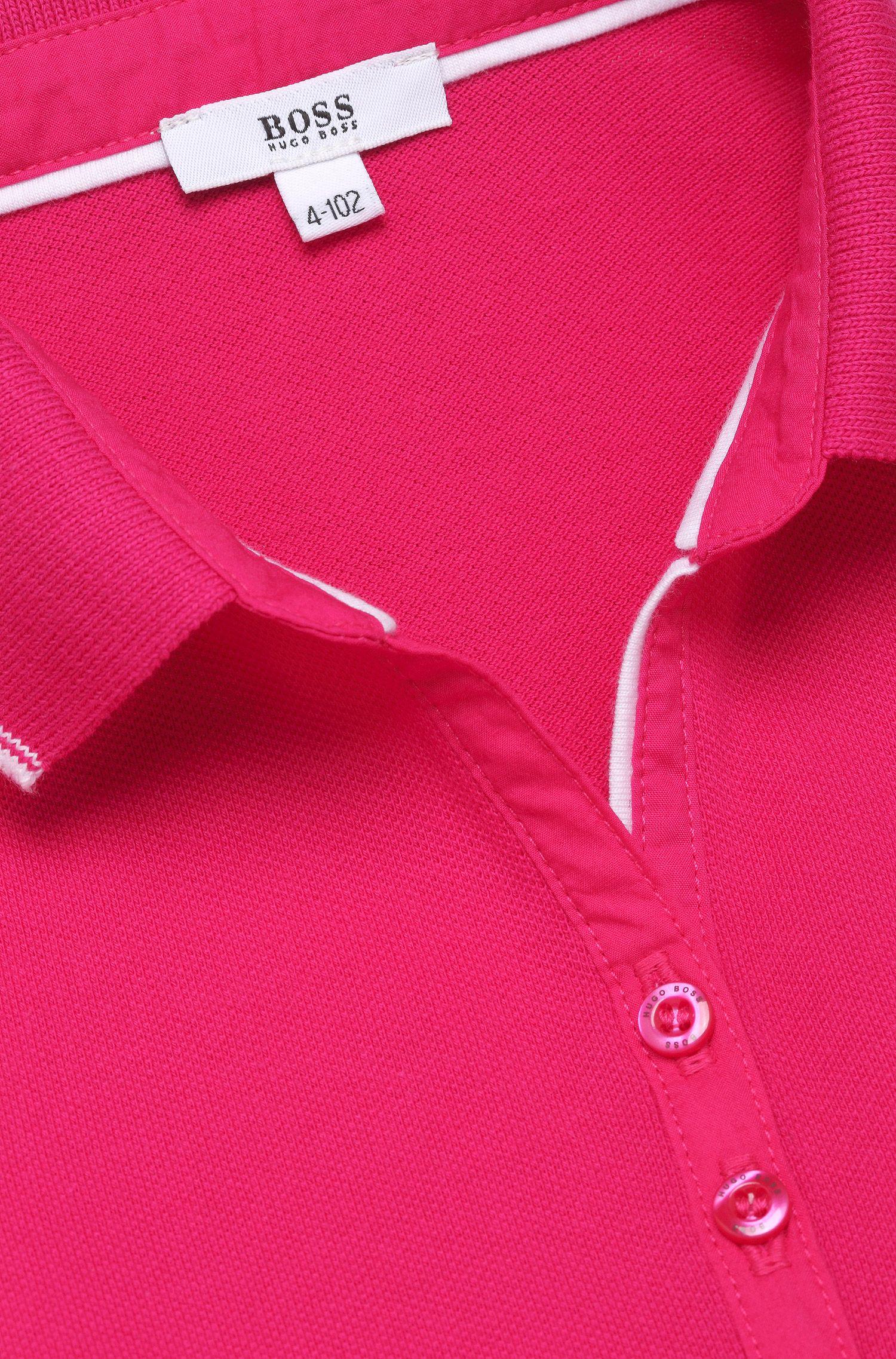 Robe-polo pour enfant «J12120» en coton mélangé