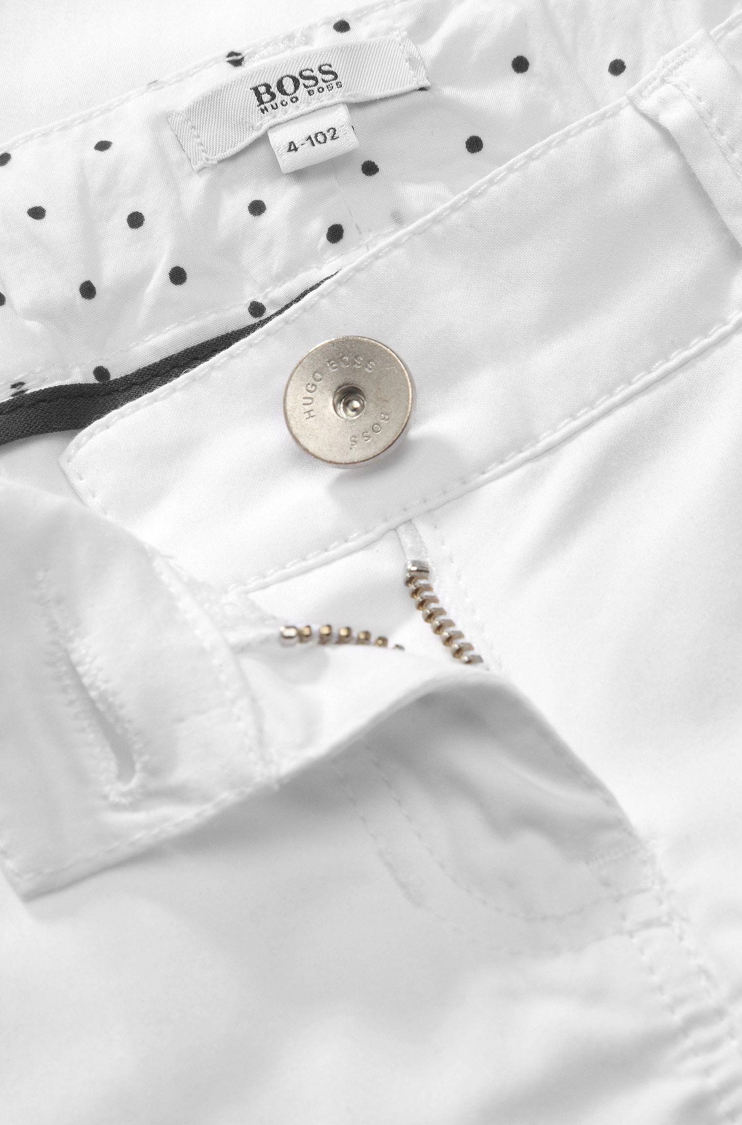 Pantalon enfant «J14137», coton mélangé à de l'élasthanne