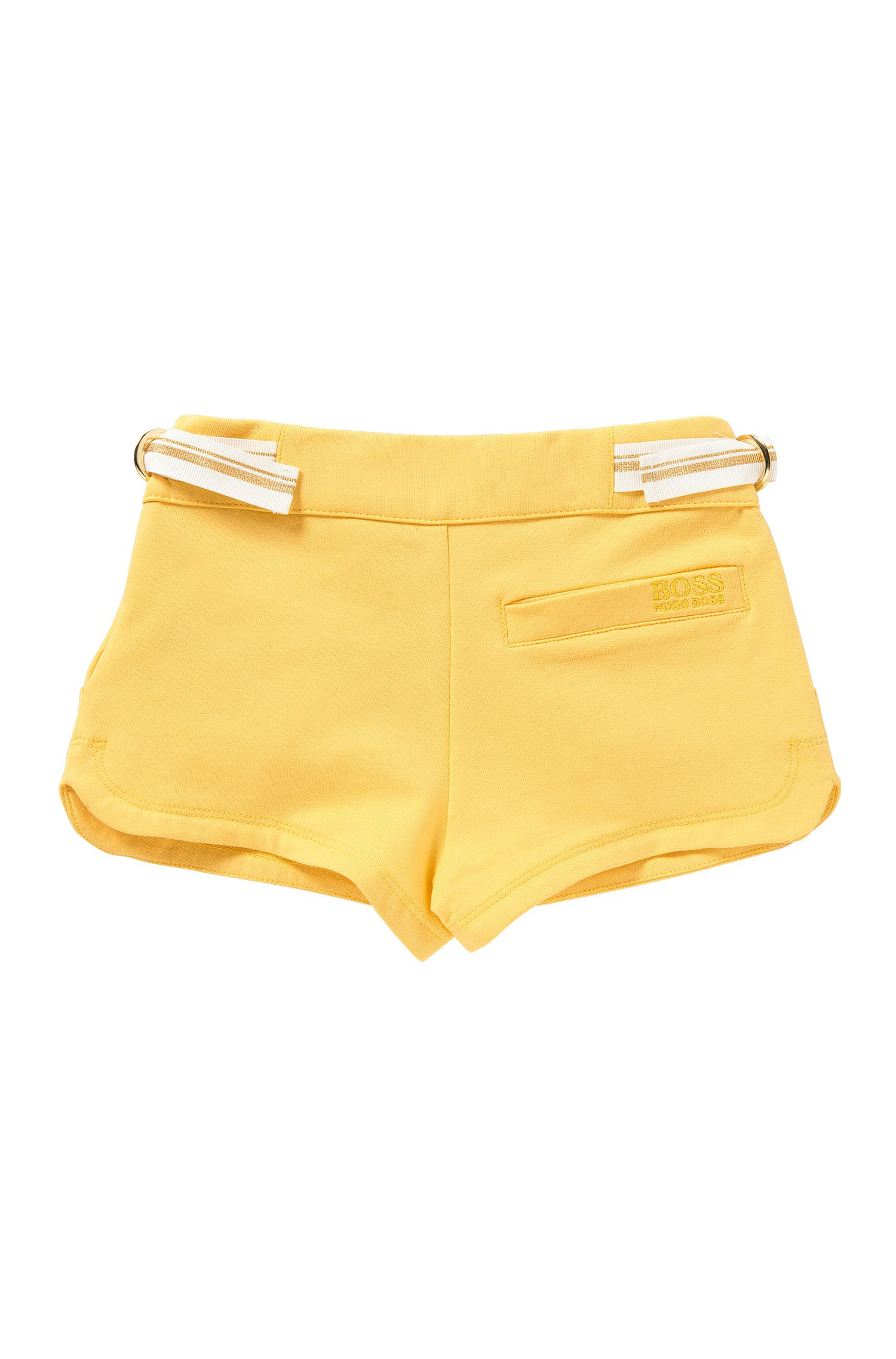 Kids-Shorts aus Stretch-Baumwolle mit Bindeband: 'J14173'