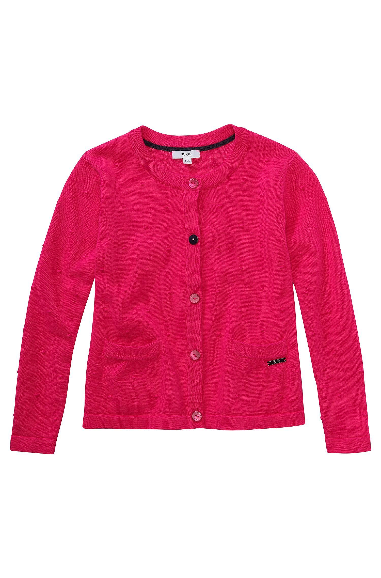 Veste en maille pour enfant «J15288» en coton