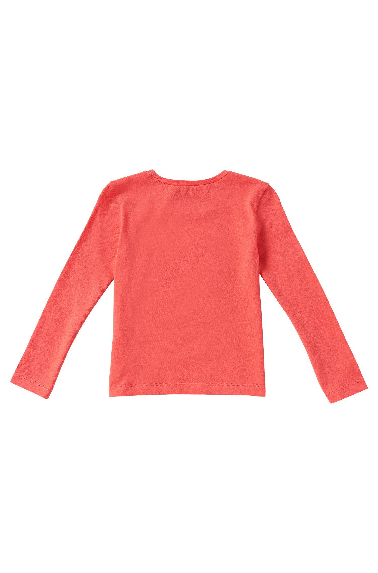 T-shirt à manches longues pour enfant en coton: «J15307»