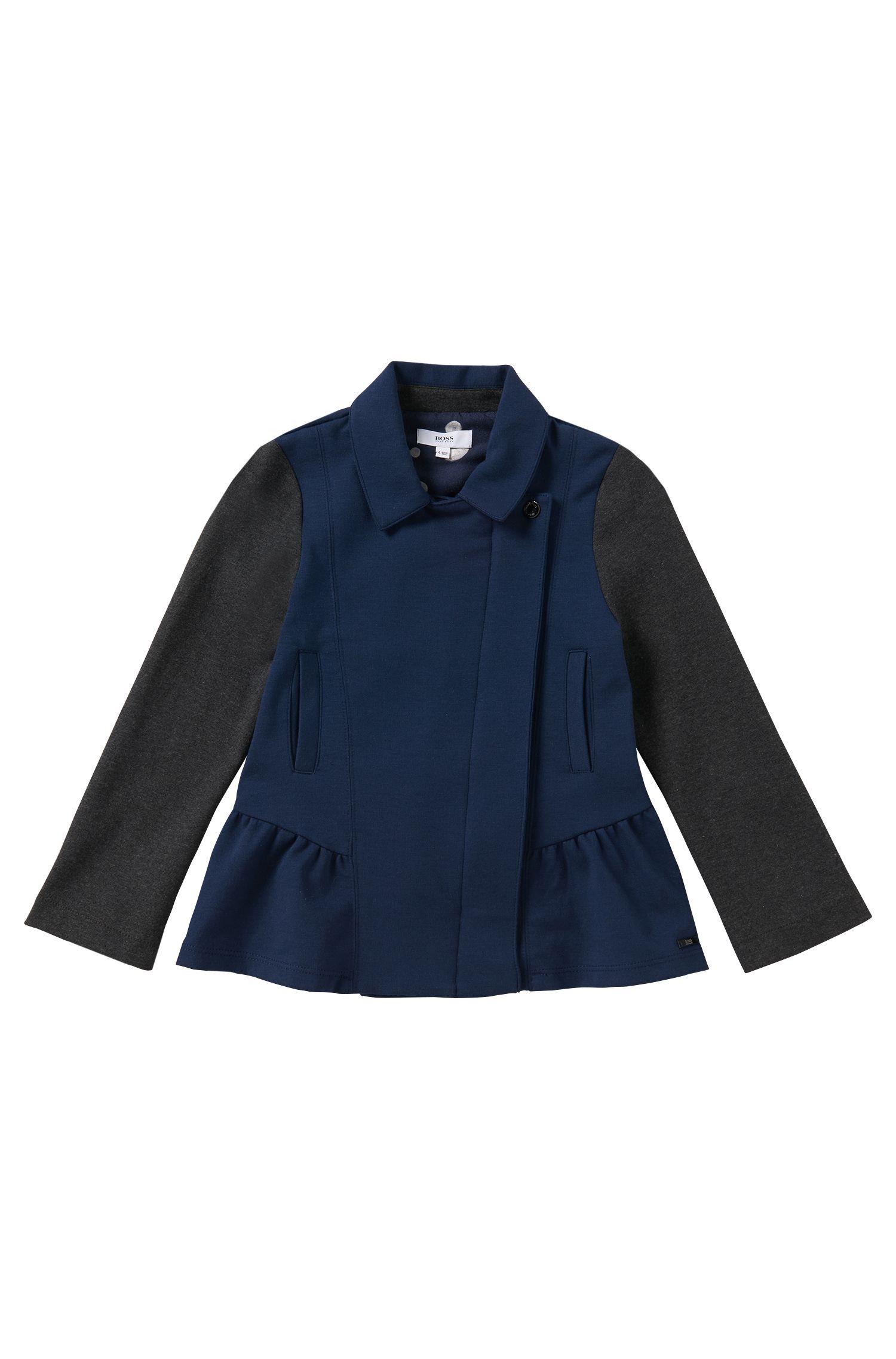 Sweatshirt-Jacke aus Baumwoll-Mix: 'J15314'
