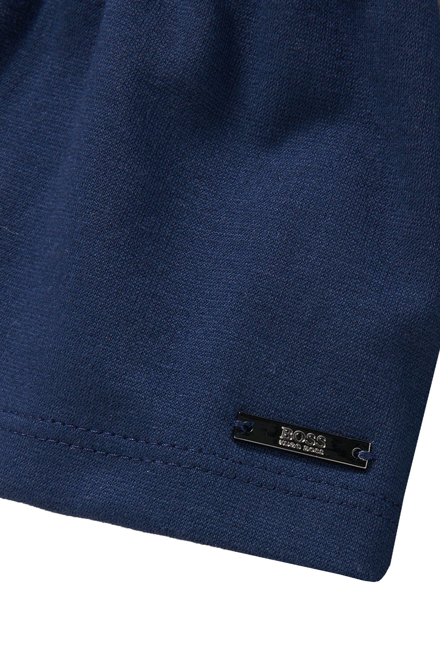 Sweatjas van een katoenmix: 'J15314'