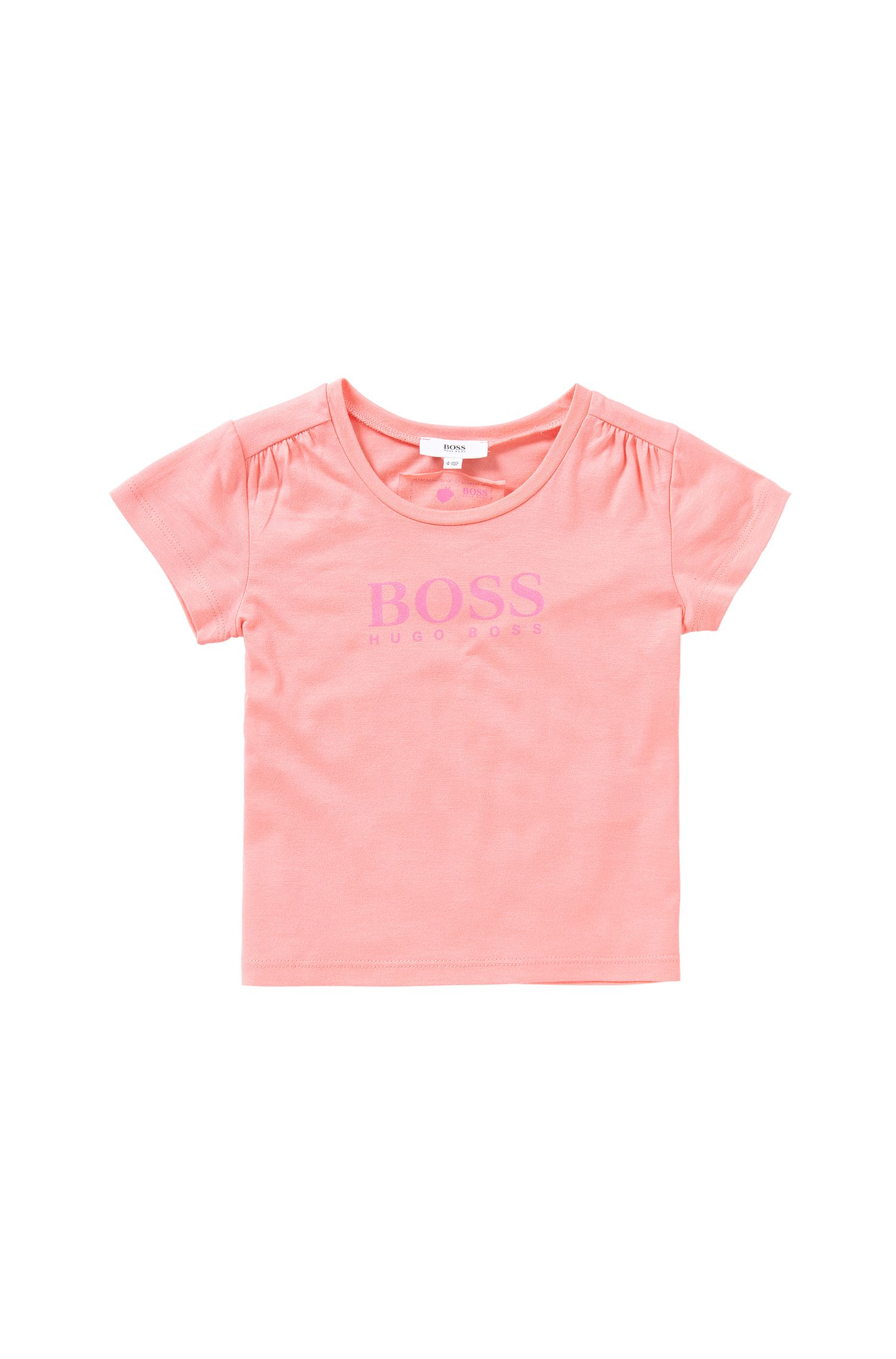 Printed kids' t-shirt in cotton blend: 'J15340'