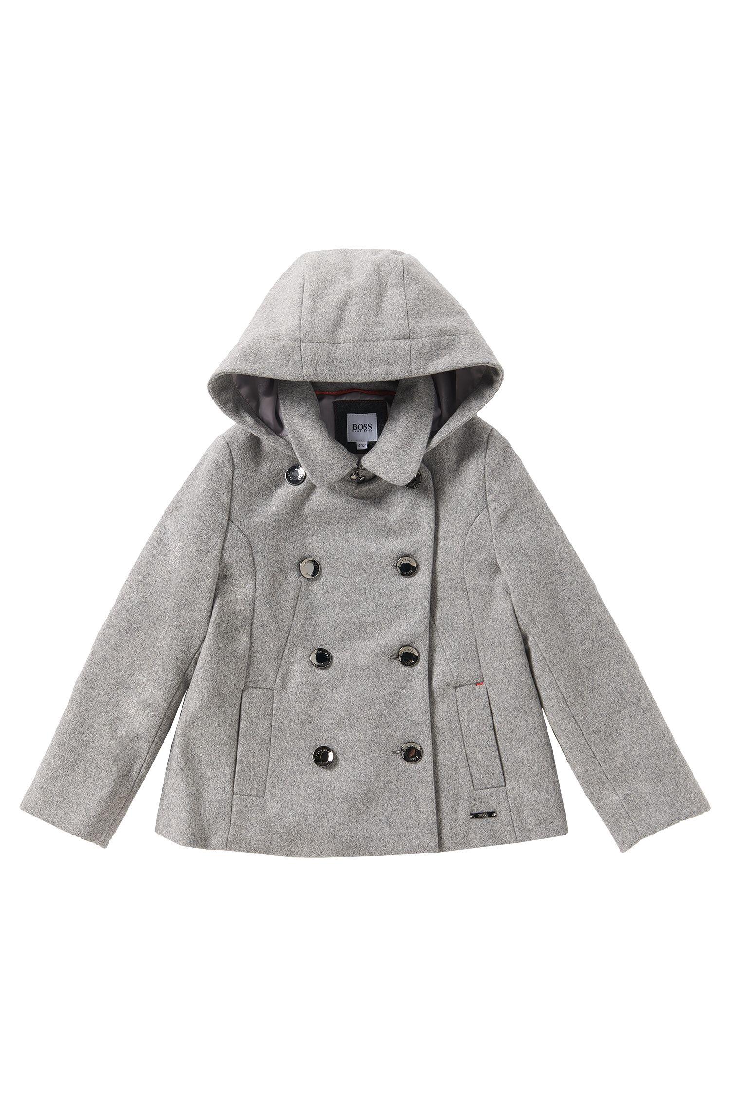 Manteau en laine mélangée: «J16112»