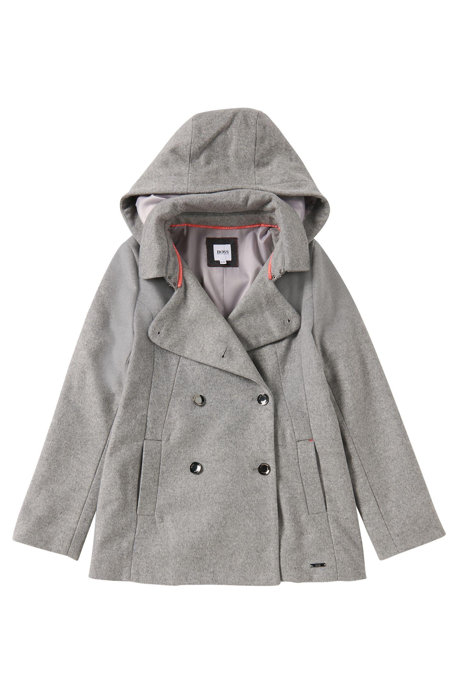 Mantel aus Woll-Mix: 'J16112'