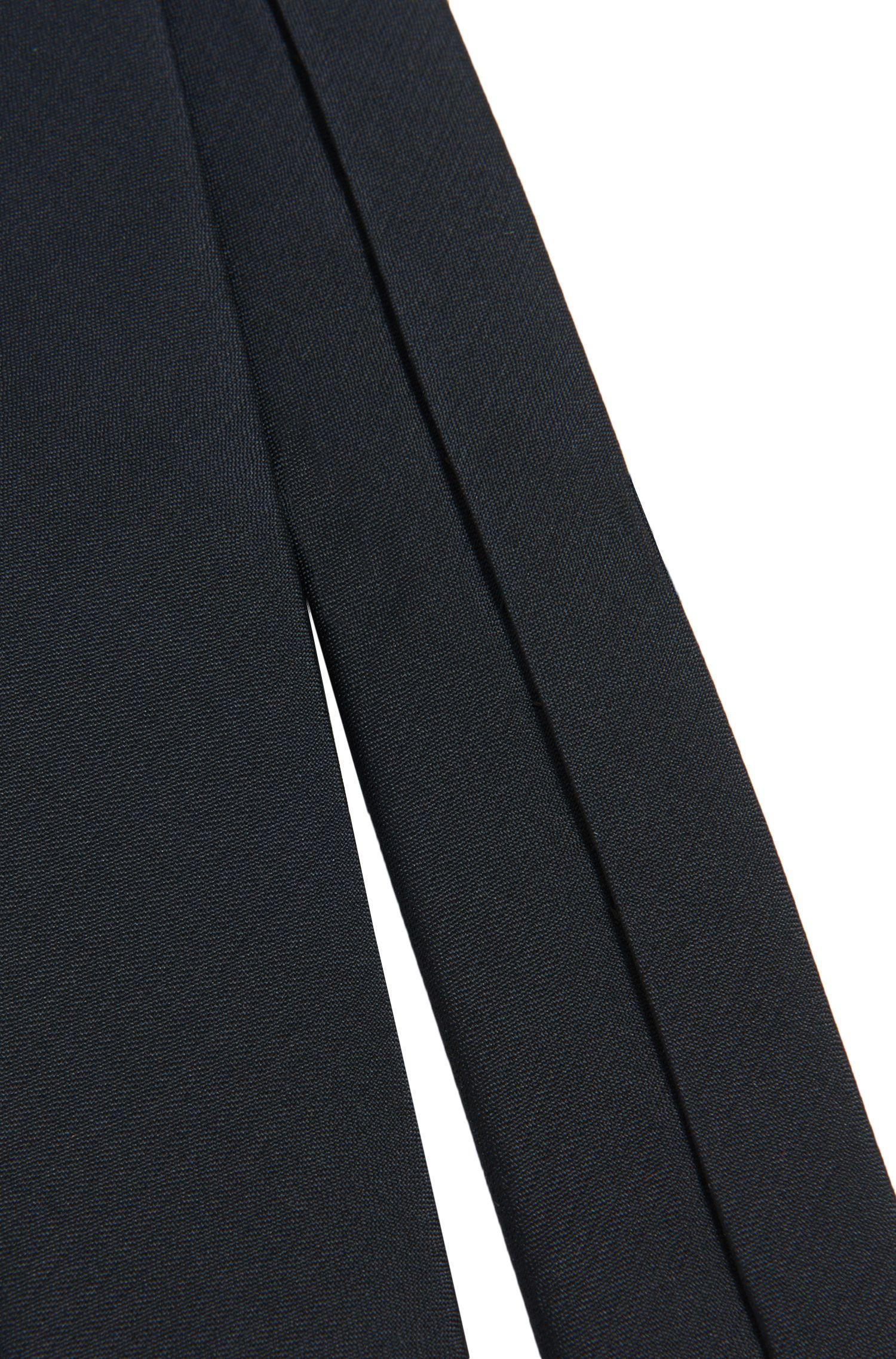 Cravate en soie unie pour enfants: «J20U38»