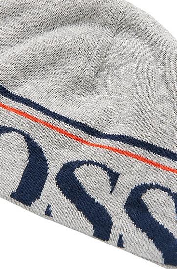Mütze aus Baumwoll-Mix: 'J21143', Grau