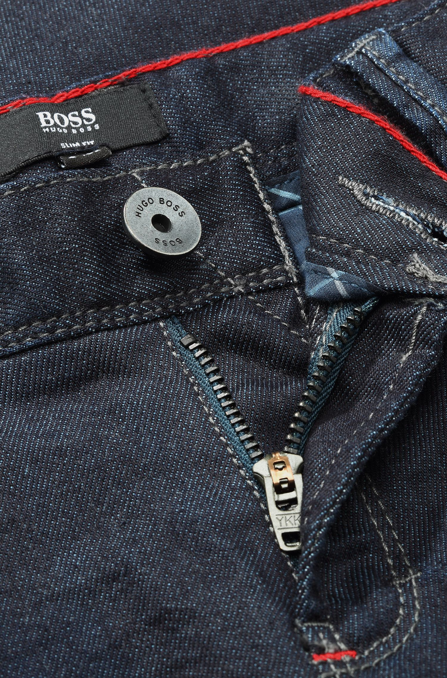 Jeans pour enfant «J24305» en coton mélangé