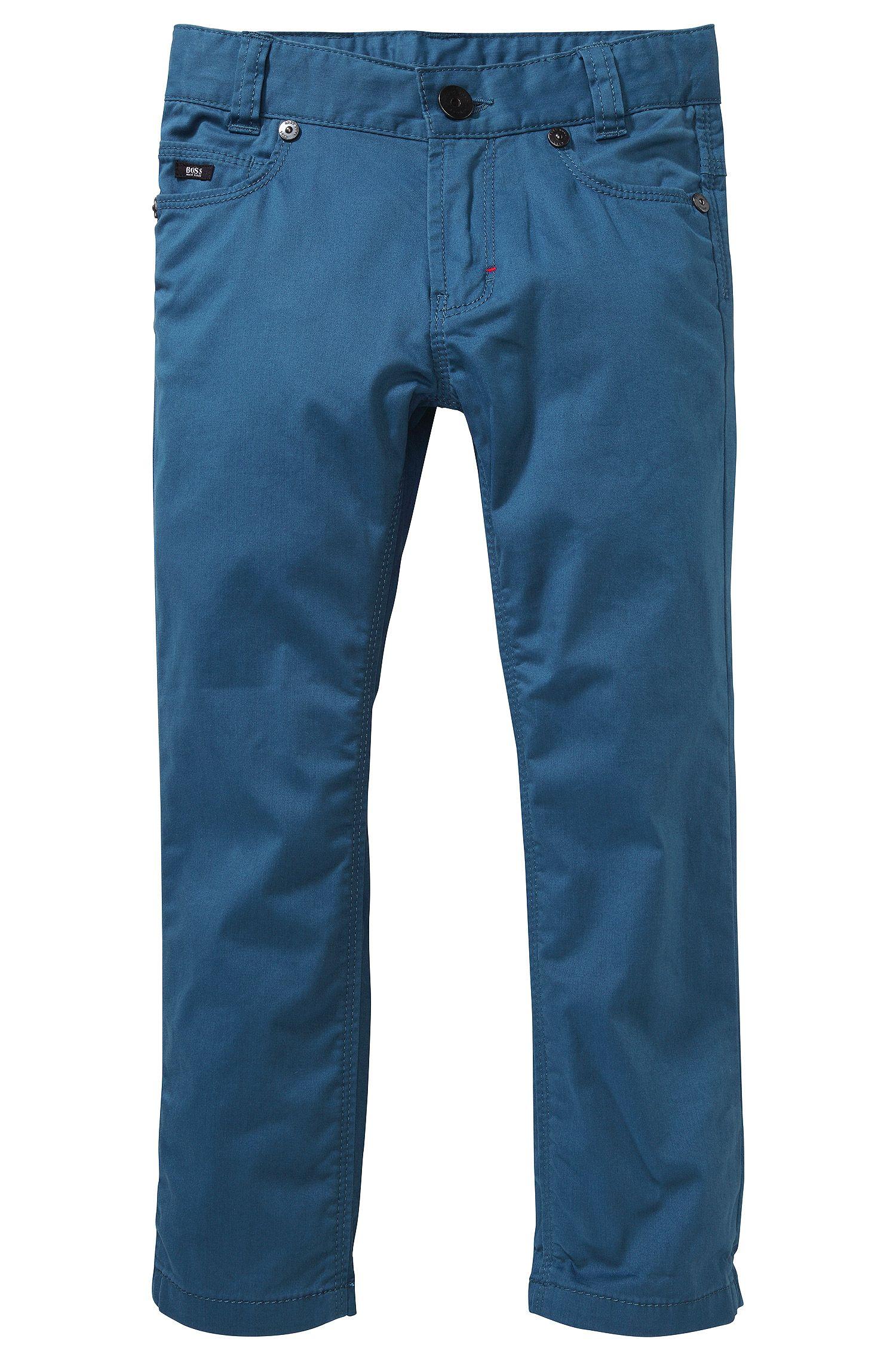 Jeans pour enfant «J24326» avec bande en élastomère ajustable