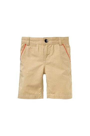 Kids-Shorts ´J24334` aus Baumwolle, Beige