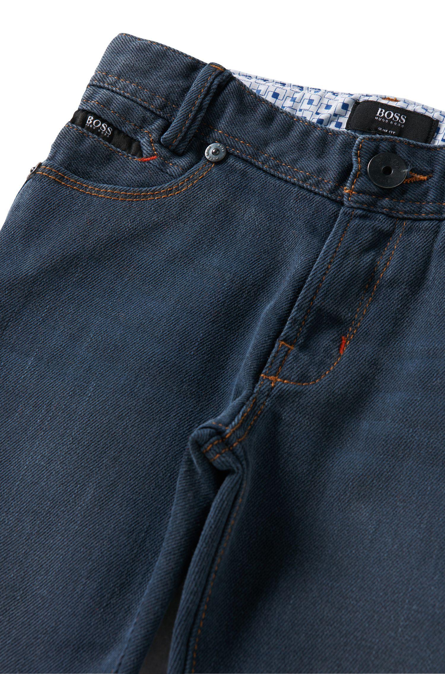 Kids-Jeans aus Baumwoll-Mix: 'J24369'