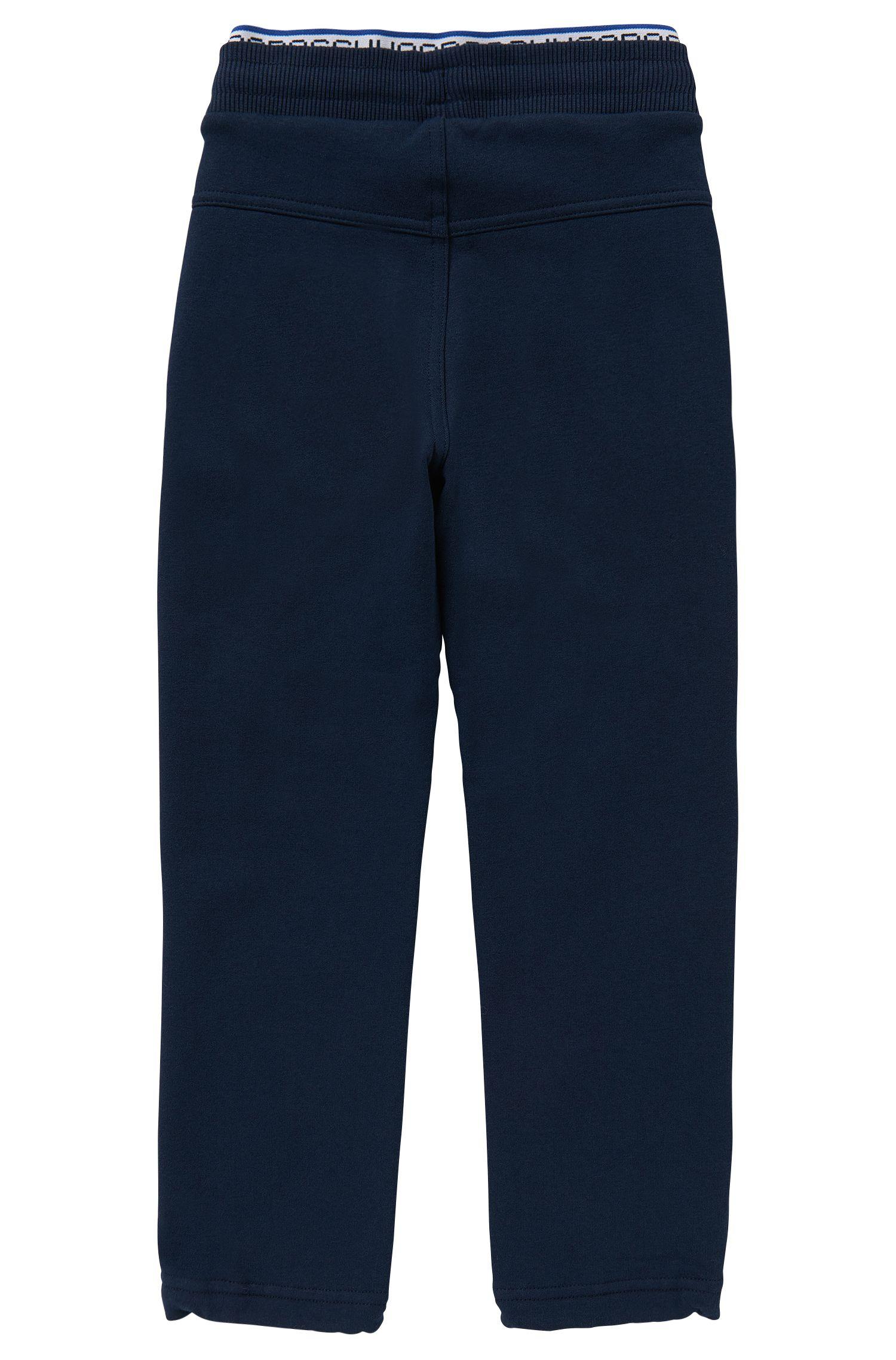 Pantalon de jogging en coton mélangé: «J24370»