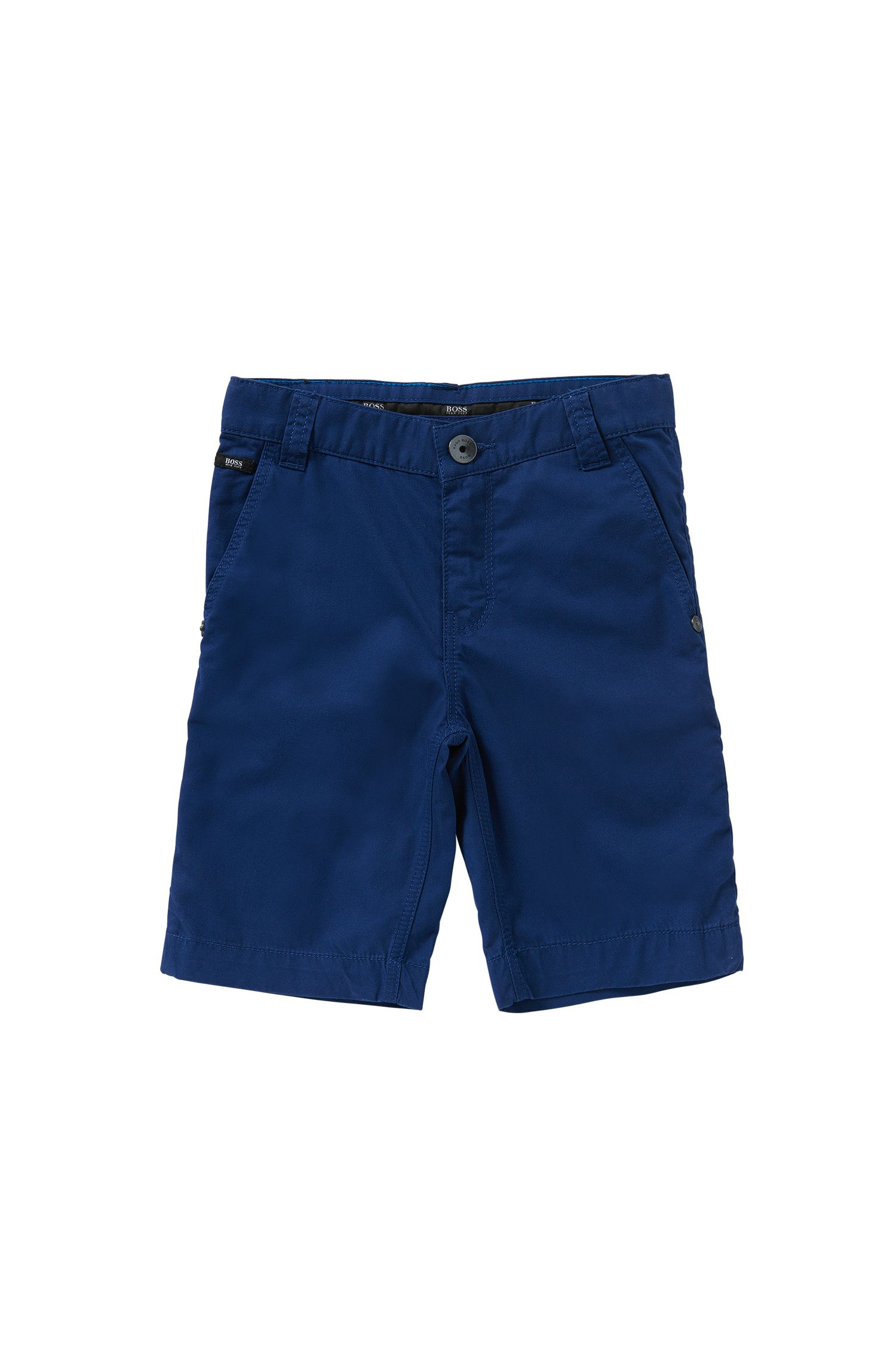 Regular-Fit Kids-Shorts aus reiner Baumwolle: 'J24386'