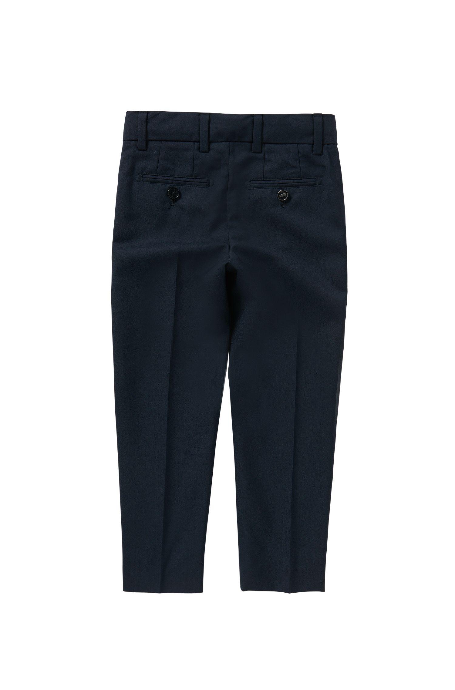 Regular-Fit Kids-Hose mit Bügelfalten: 'J24U07'