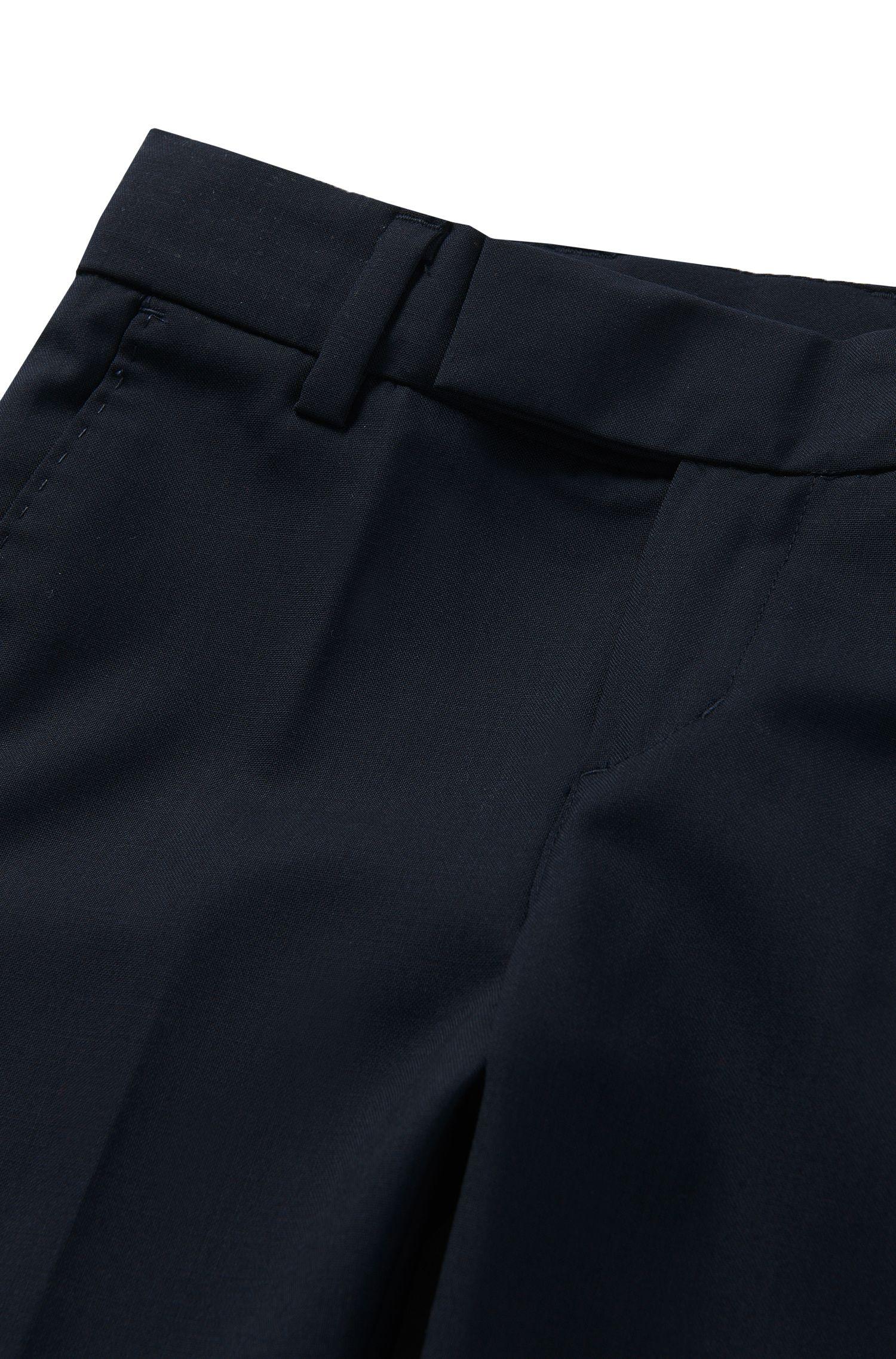 Pantalon pour enfant Regular Fit doté de plis de repassage: «J24U07»