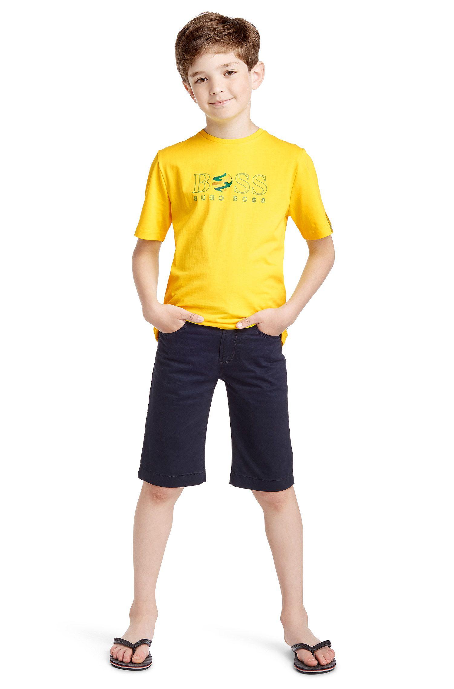 Kinder-T-shirt 'J25670' van katoen