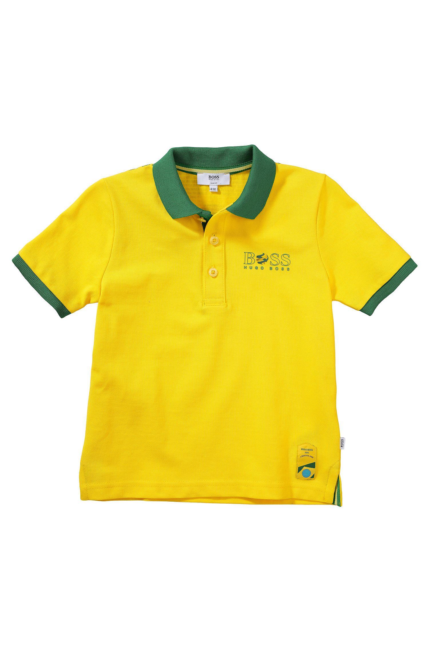 Polo pour enfant « J25671 » en maille piquée