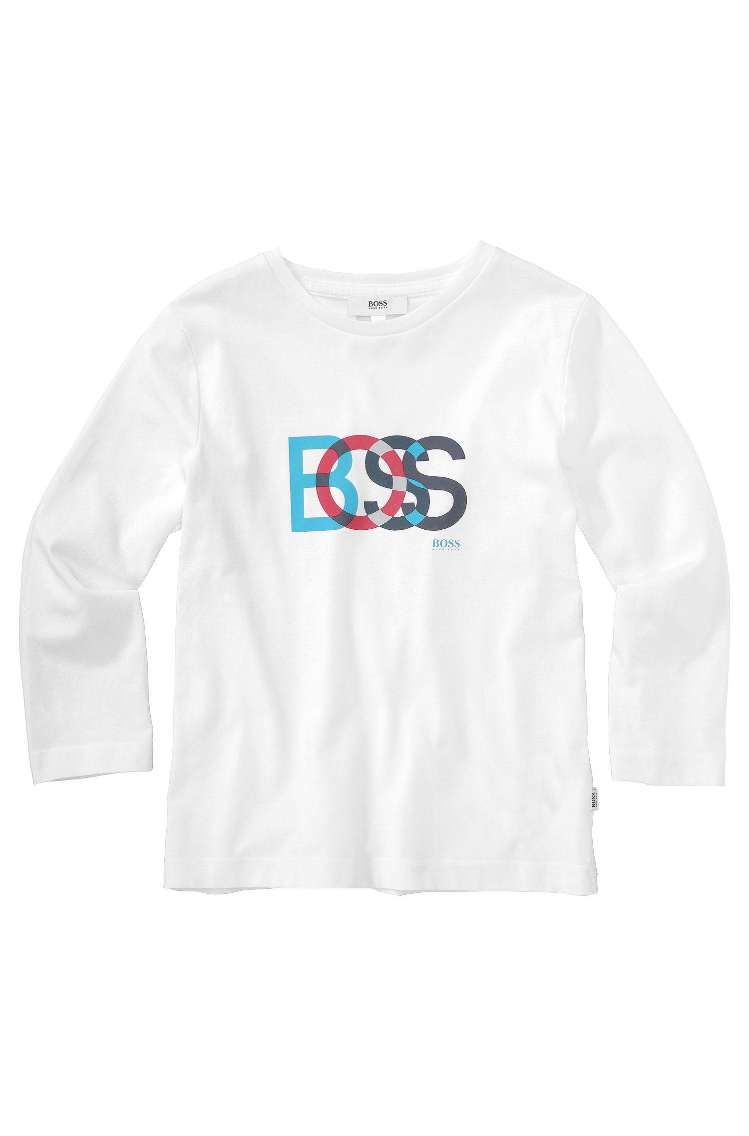 Kindershirt met lange mouwen 'J25708' van katoen