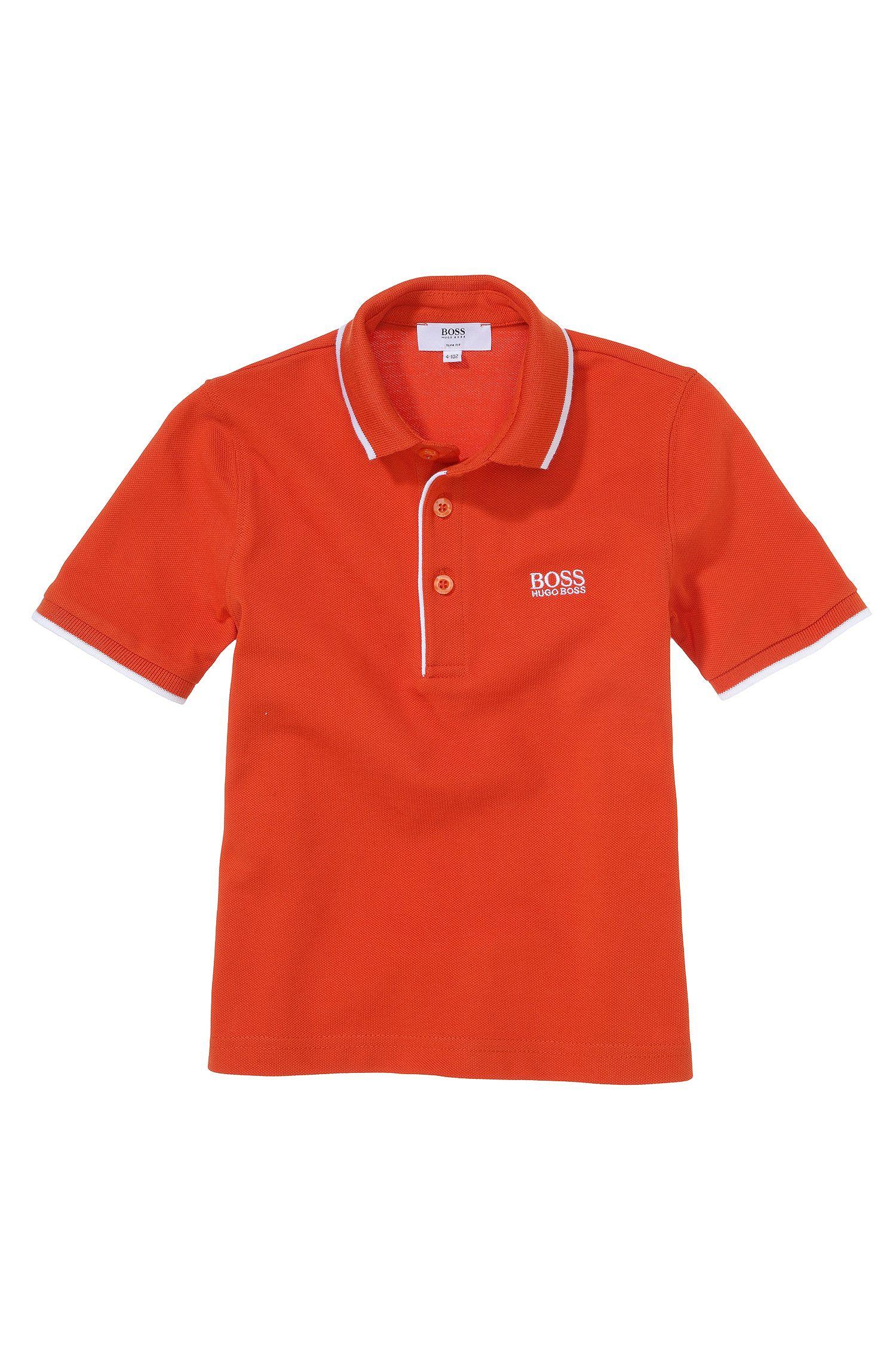 Polo pour enfant en maille piquée de coton «J25709»