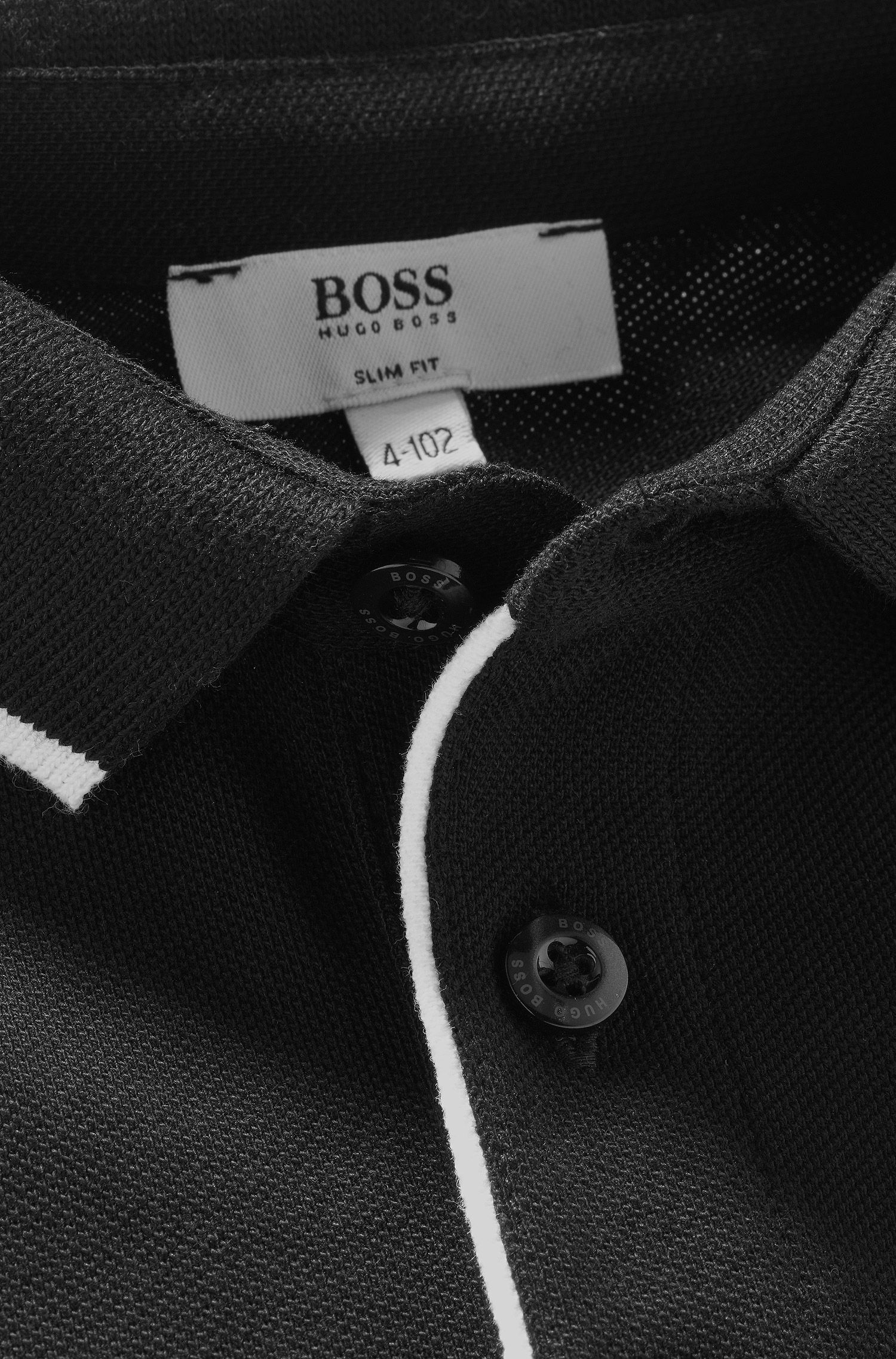 Polo à manches longues pour enfant «J25710» en coton