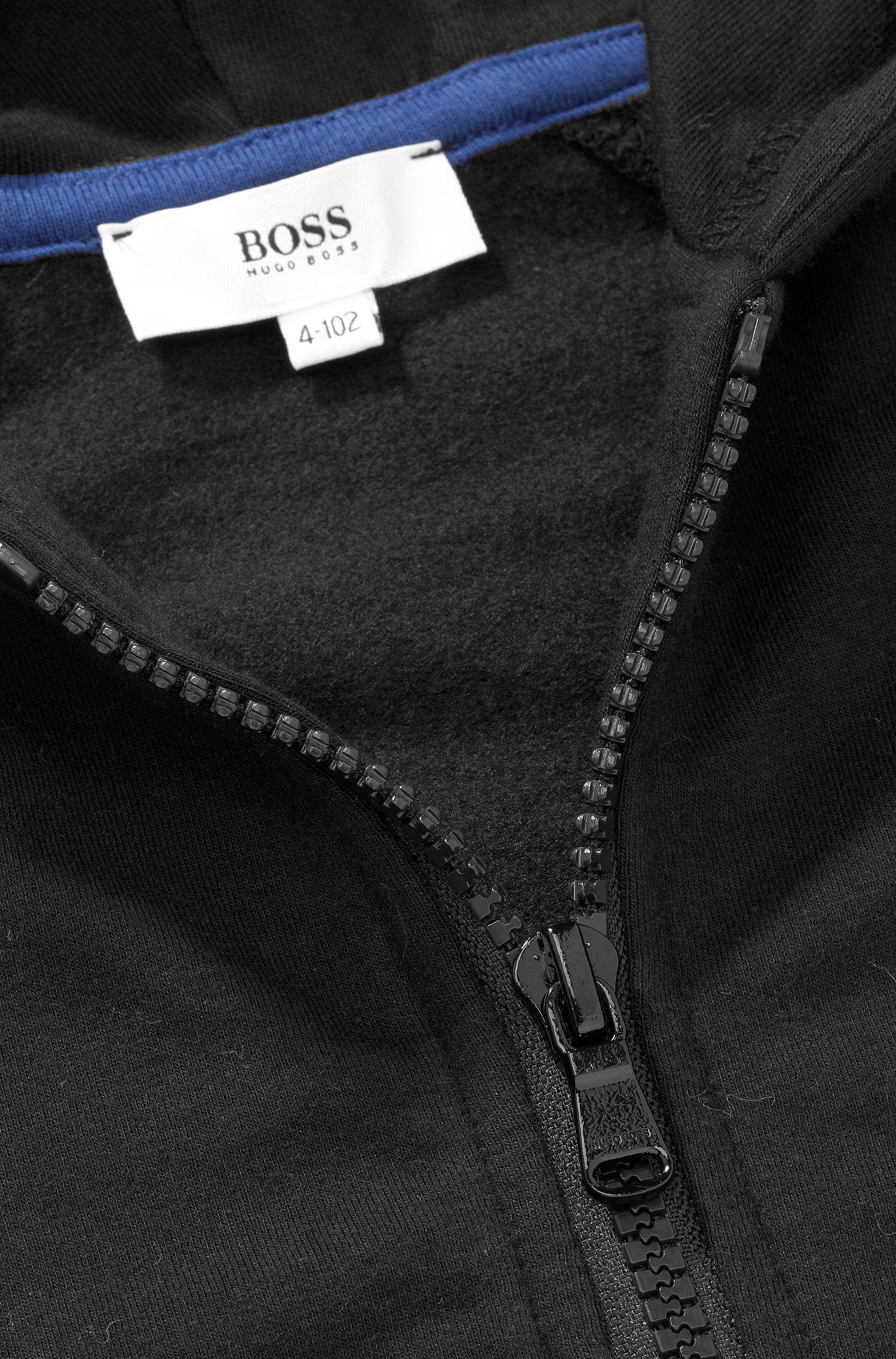 Kindersweatshirtjas 'J25717' van een katoenmix