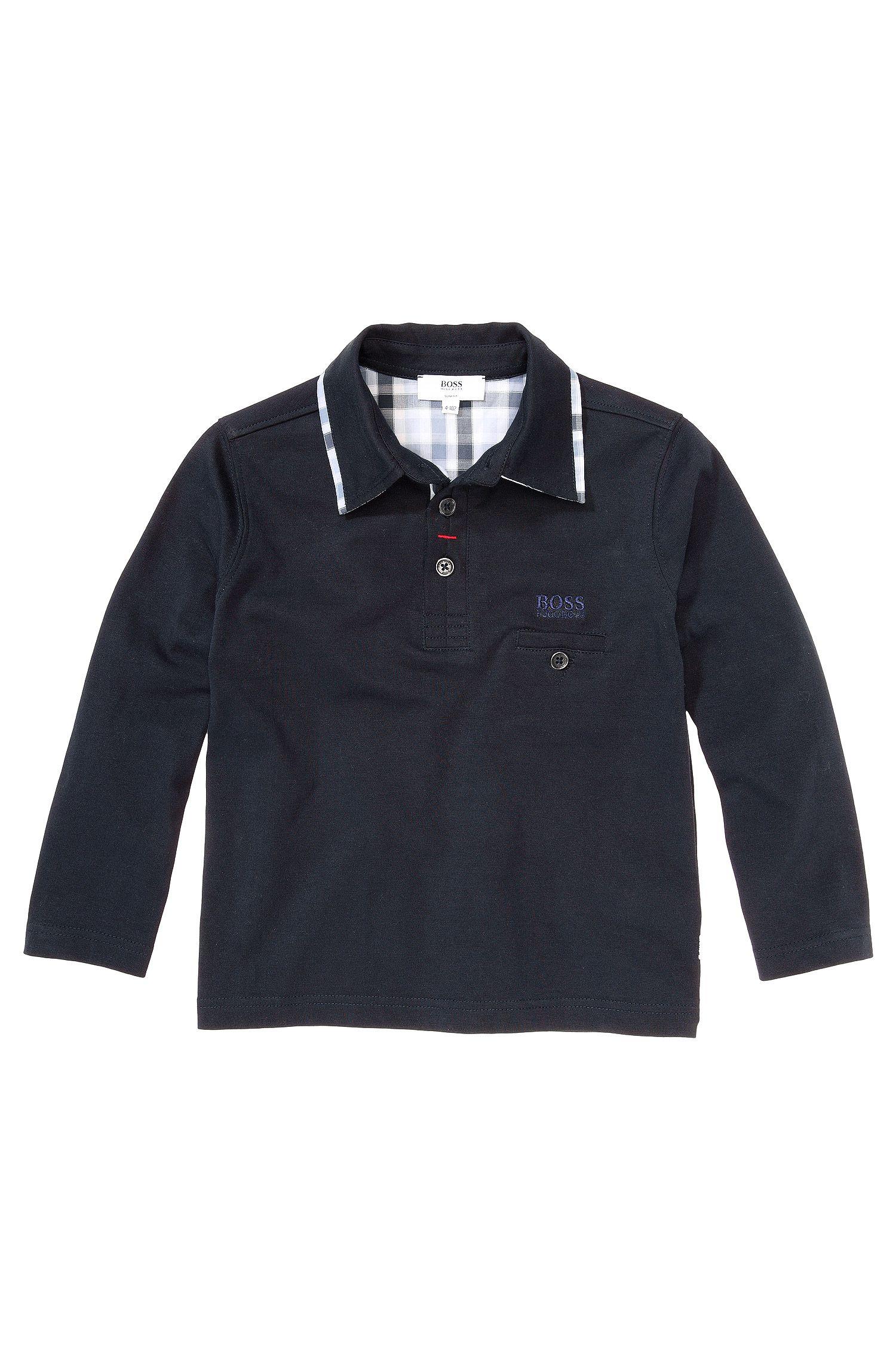 Kids-Longsleeve-Polo ´J25726` aus Baumwolle