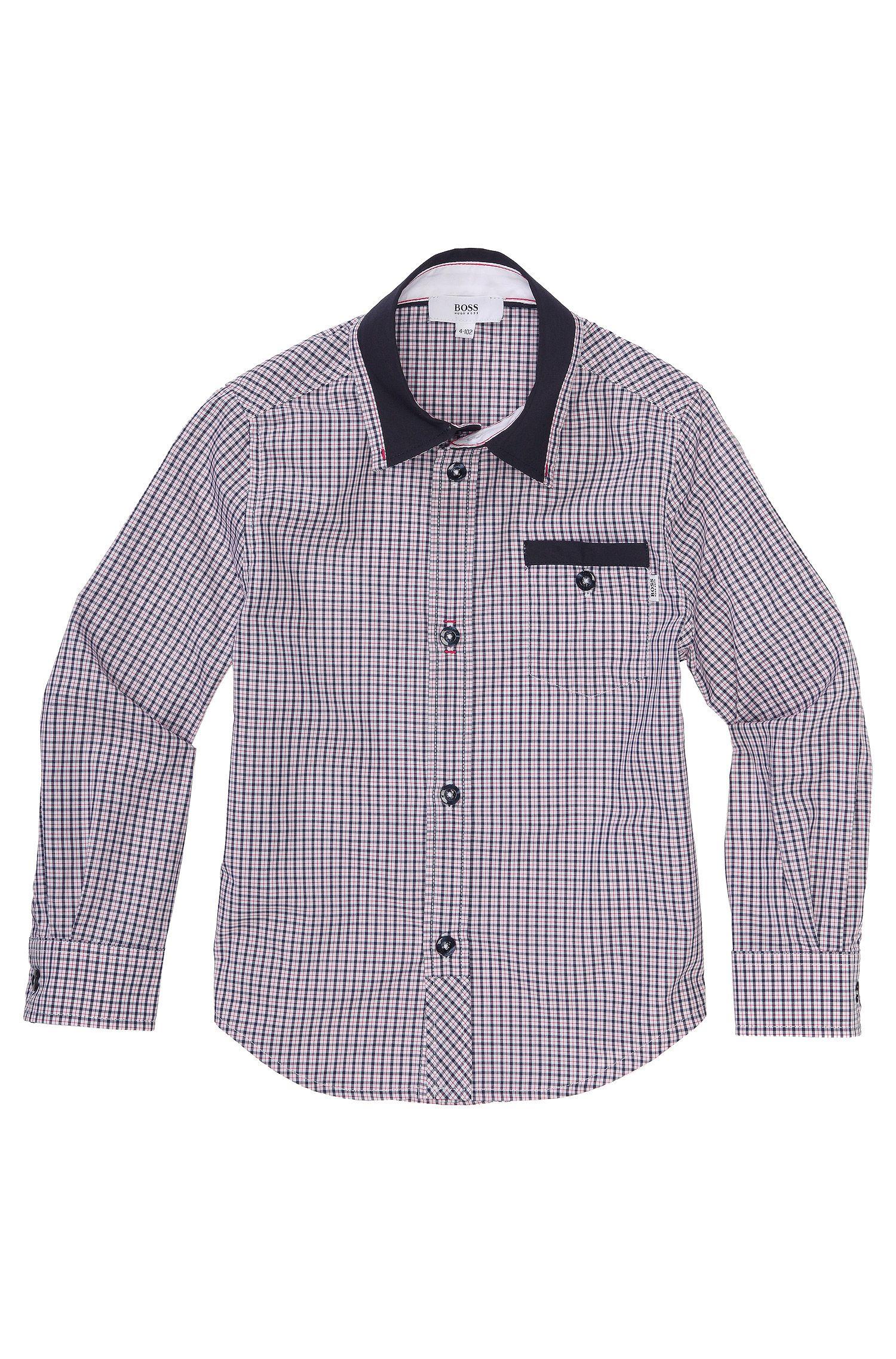 Chemise pour enfant «J25727» en coton