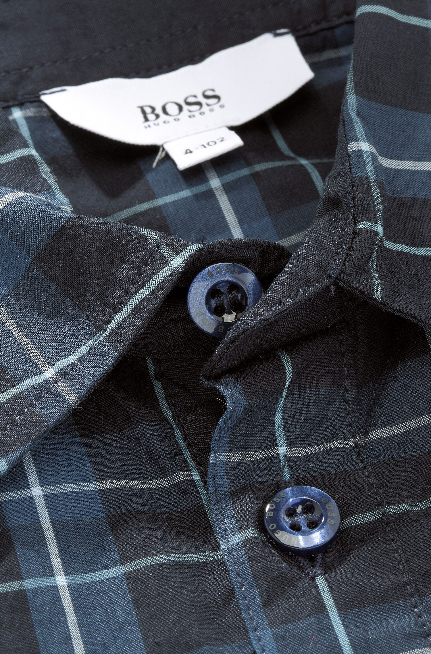 Kids-Hemd ´J25729` aus Baumwolle