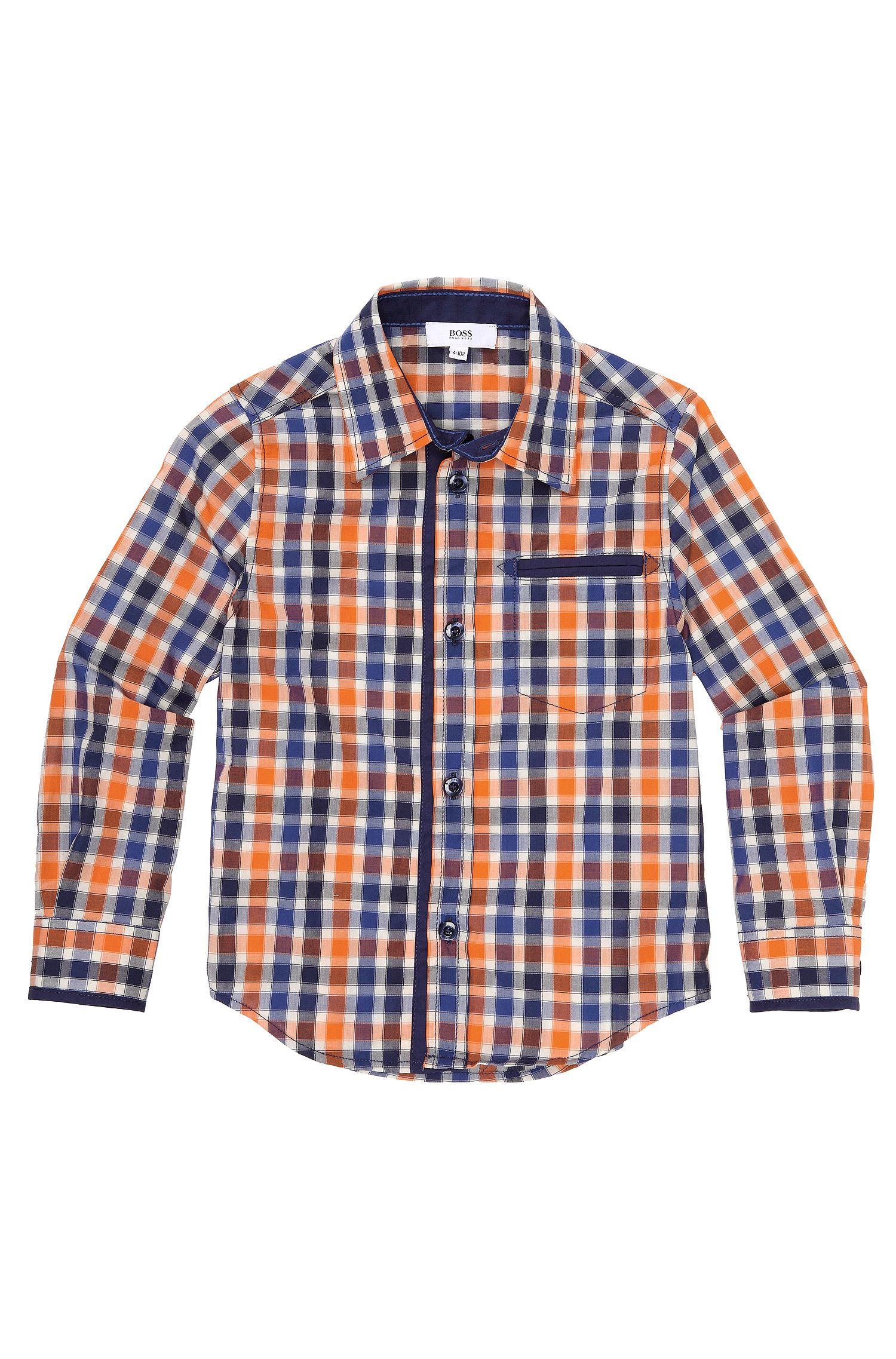 Kids-overhemd 'J25743' van katoen