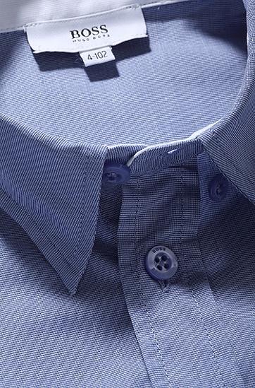 Kids-Hemd ´J25767` aus Baumwolle, Flieder