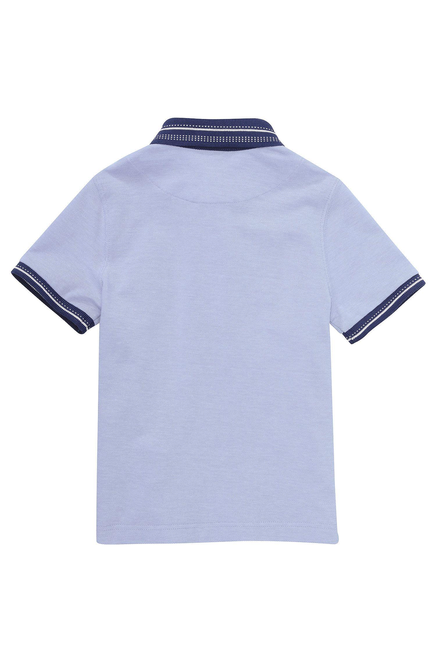 Kids-Piqué-Polo ´J25777` aus Baumwolle