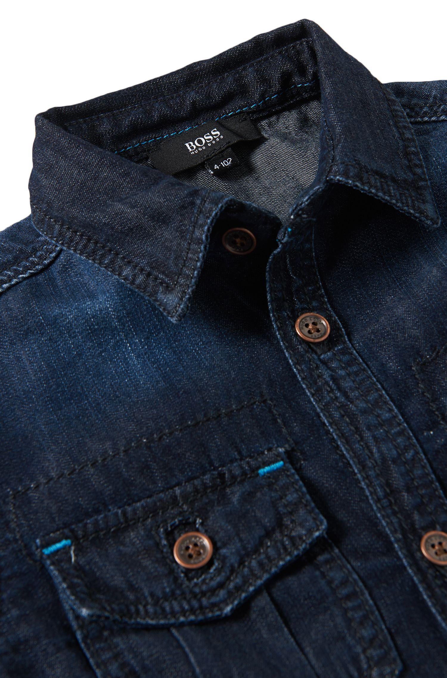 Jeanshemd aus Baumwolle: 'J25780'