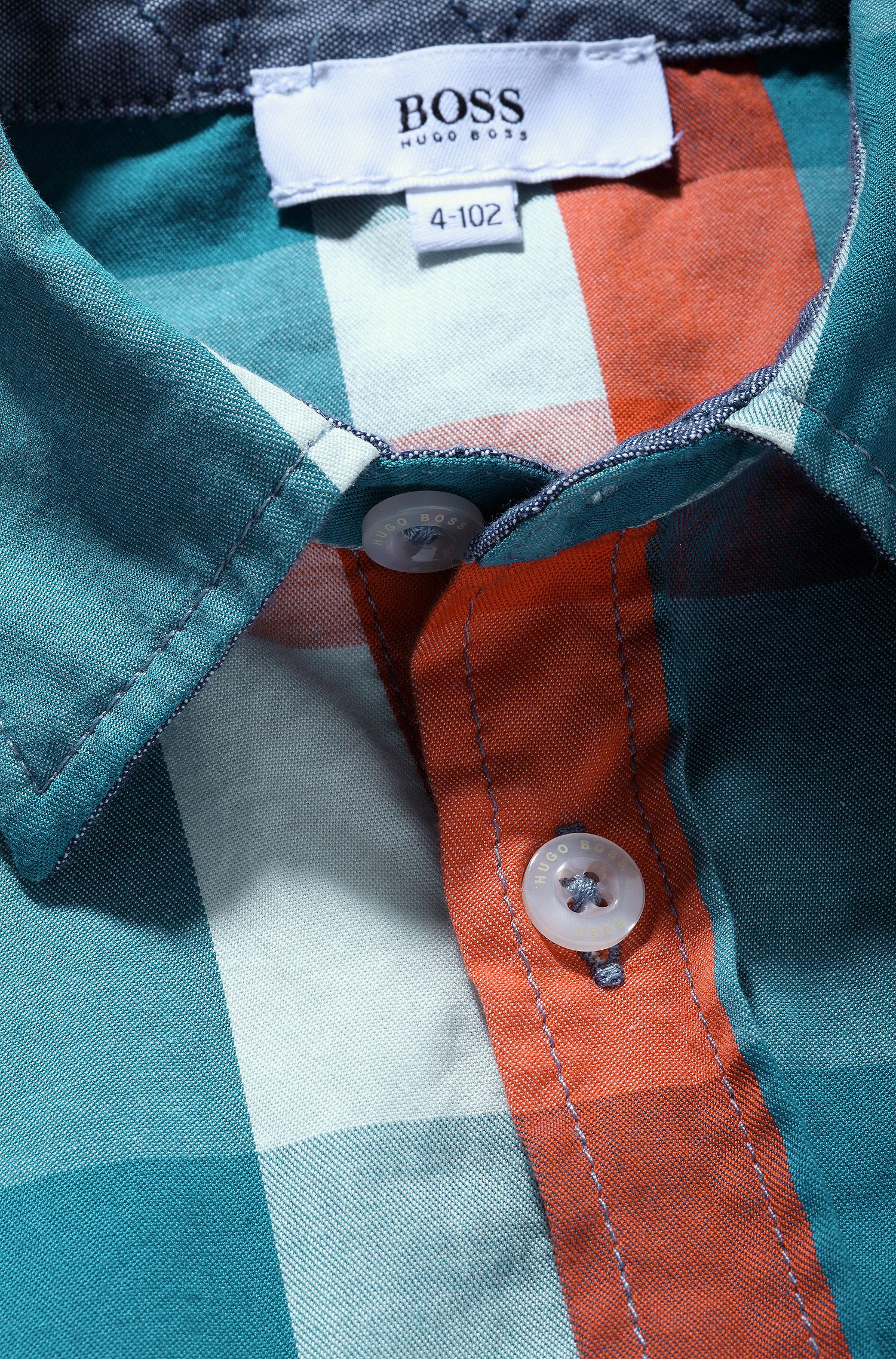 Kinderoverhemd 'J25788' van katoen