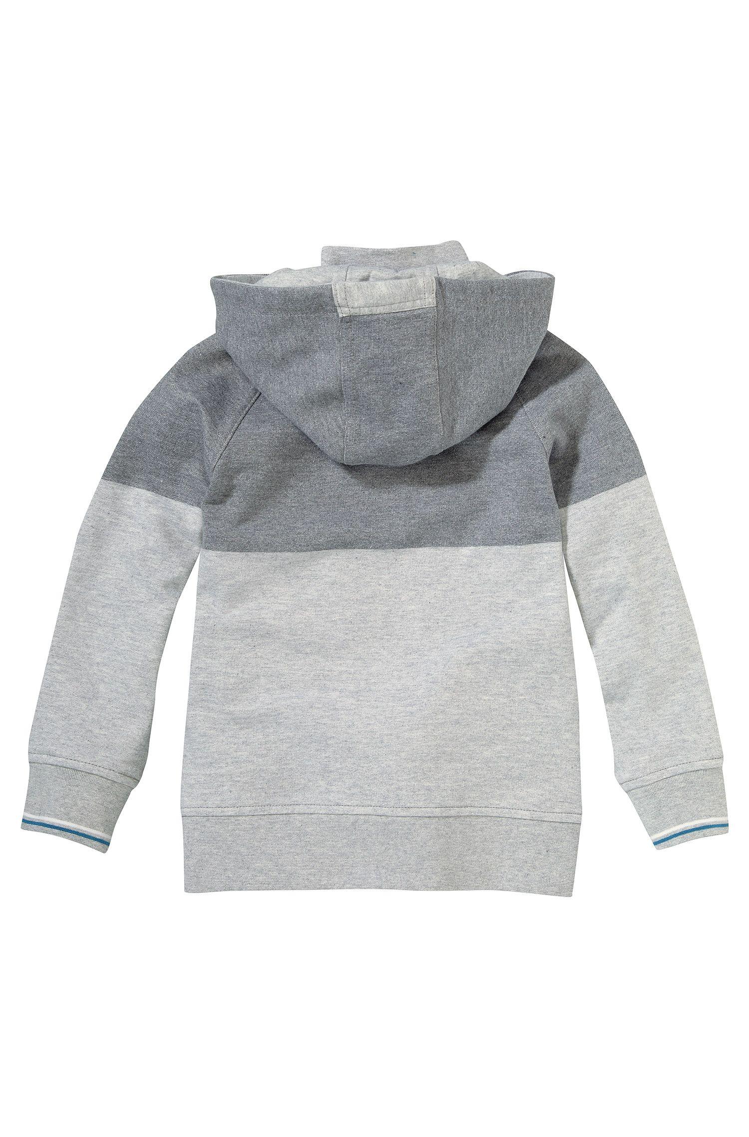 Blouson sweat à capuche pour enfant «J25789» en coton