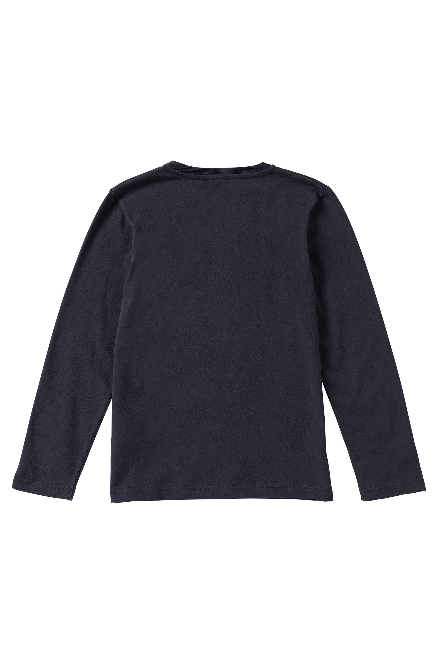 Kindershirt met lange mouwen van katoen: 'J25849'