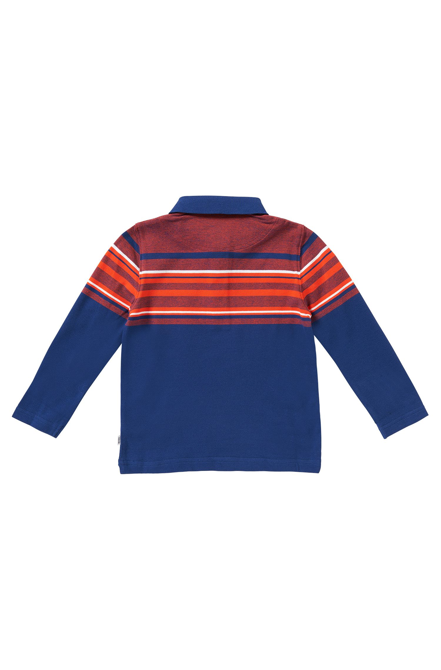 Polo pour enfant en coton: «J25857»