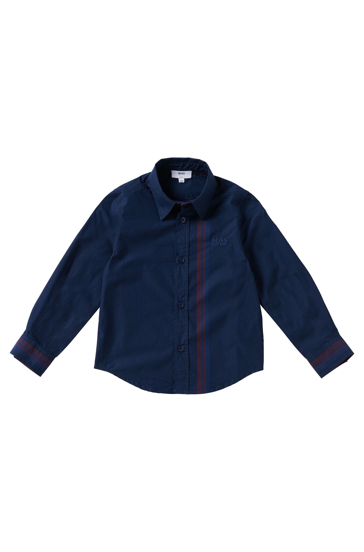 Chemise pour enfant en coton: «J25868»