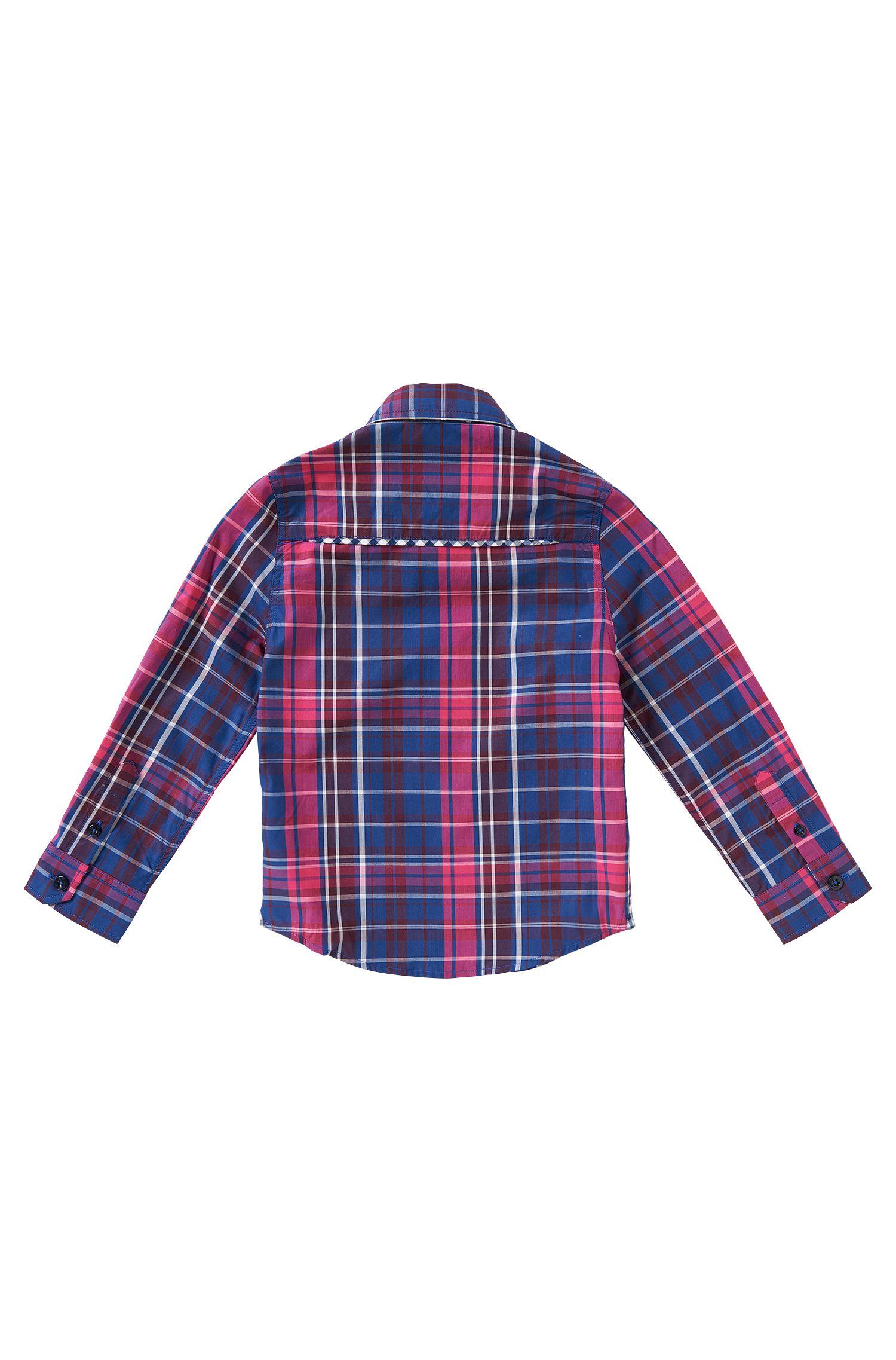 Chemise pour enfant en coton: «J25871»