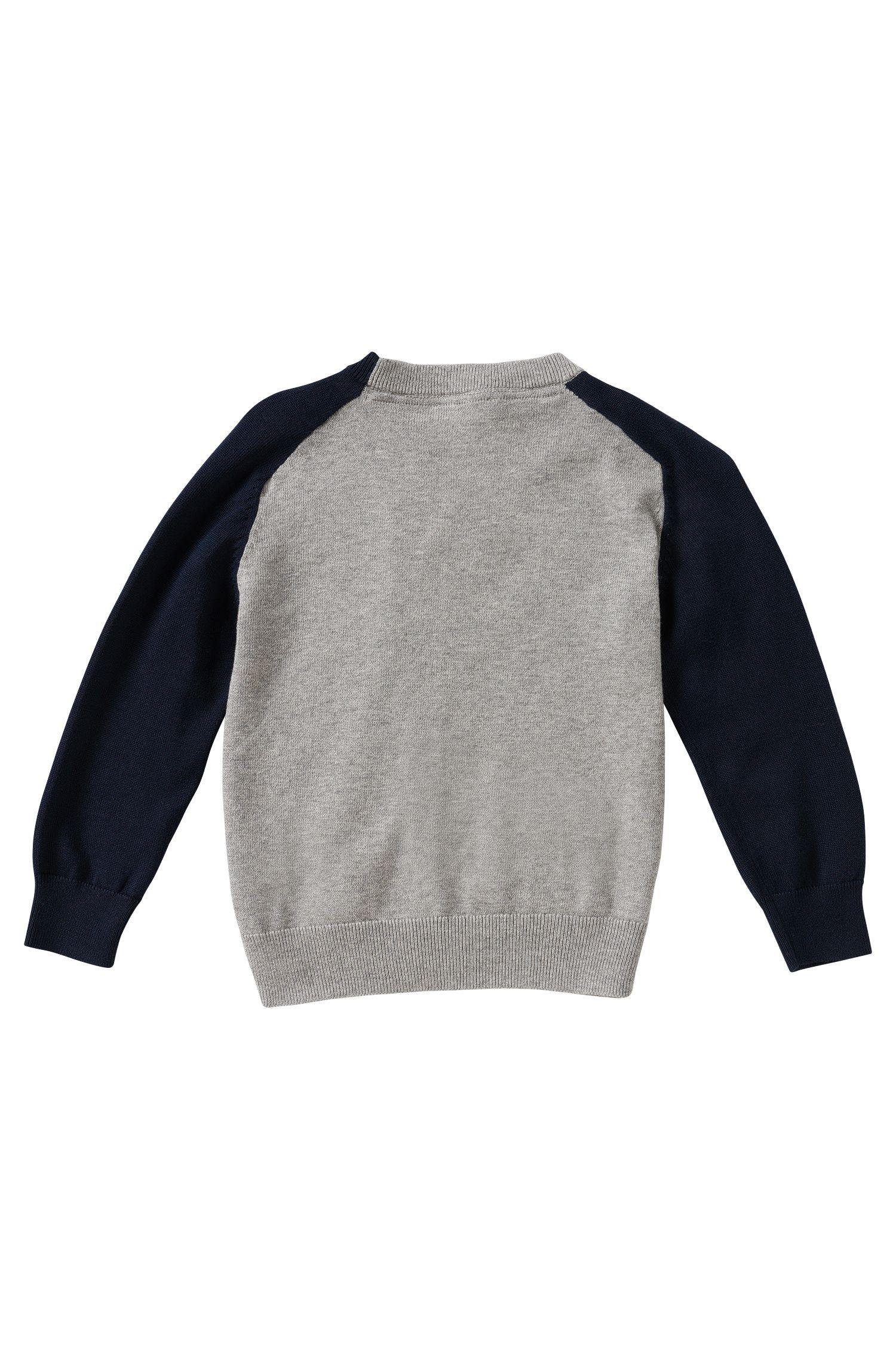 Kids-Strickjacke aus Baumwolle: 'J25879'