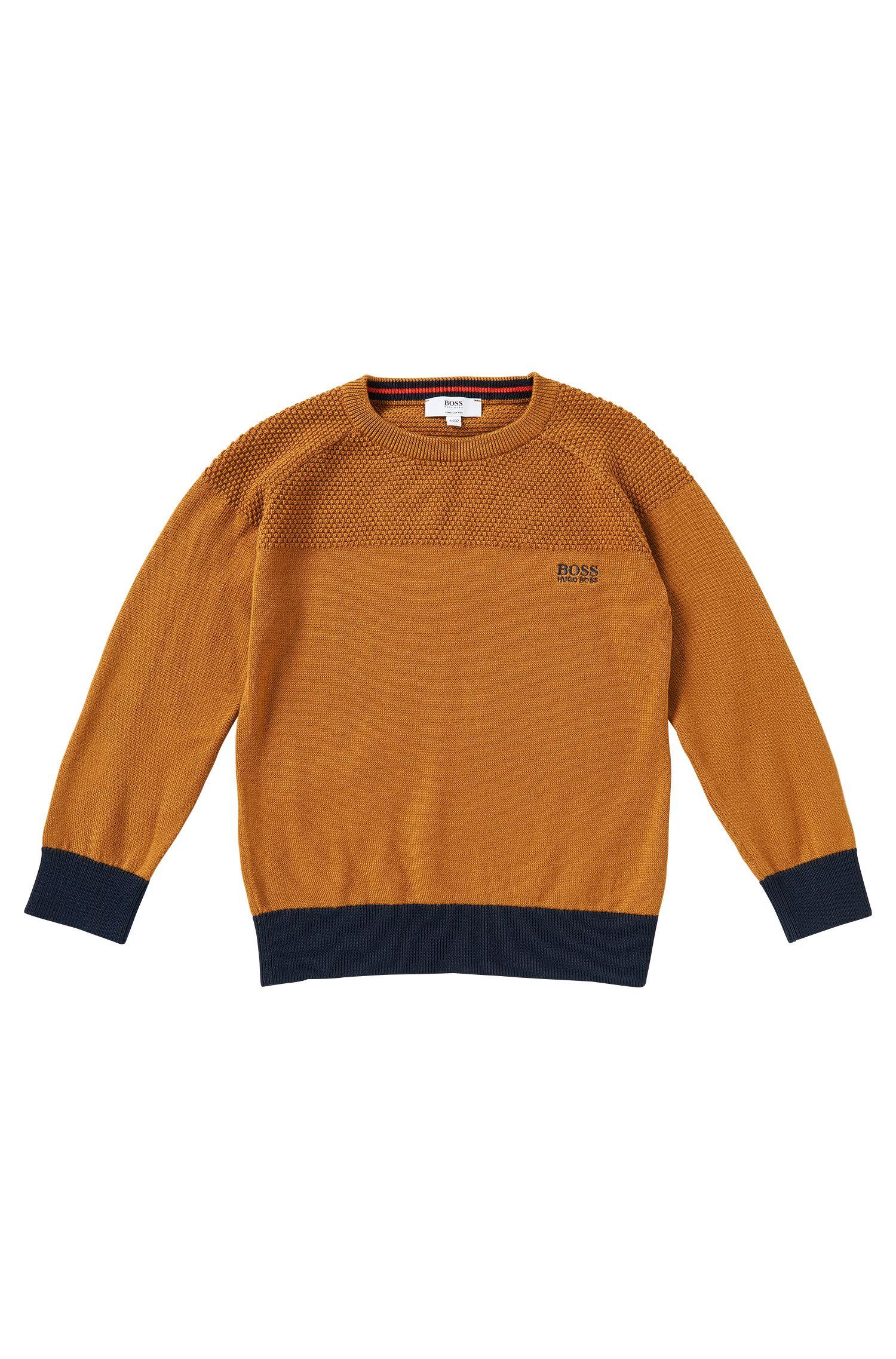 Pull pour enfant en coton: «J25884»