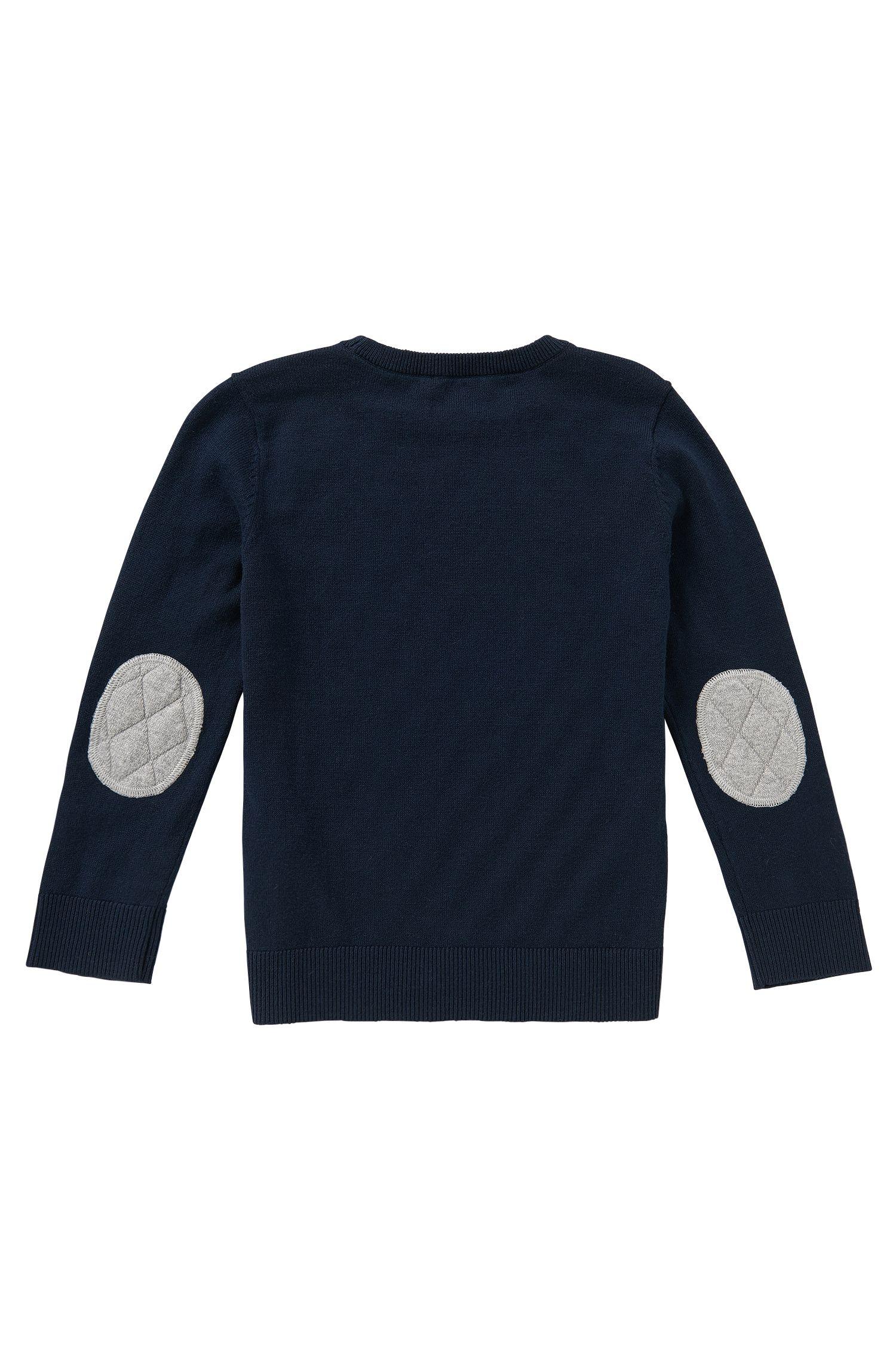 Pullover aus Baumwolle mit Kaschmir-Anteil: 'J25885'