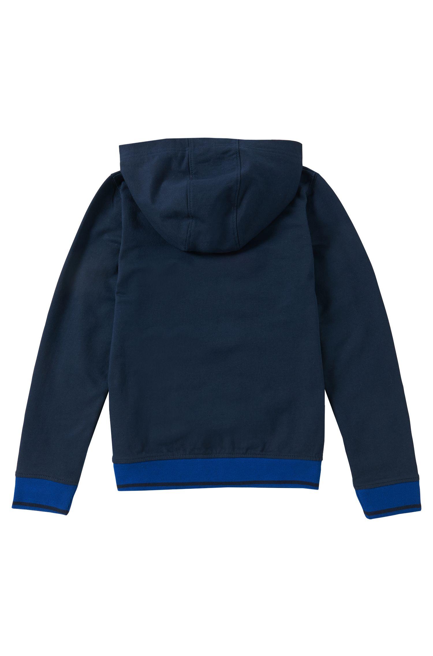 Kids Kapuzen-Sweatshirt aus elastischem Baumwoll-Mix: 'J25888'
