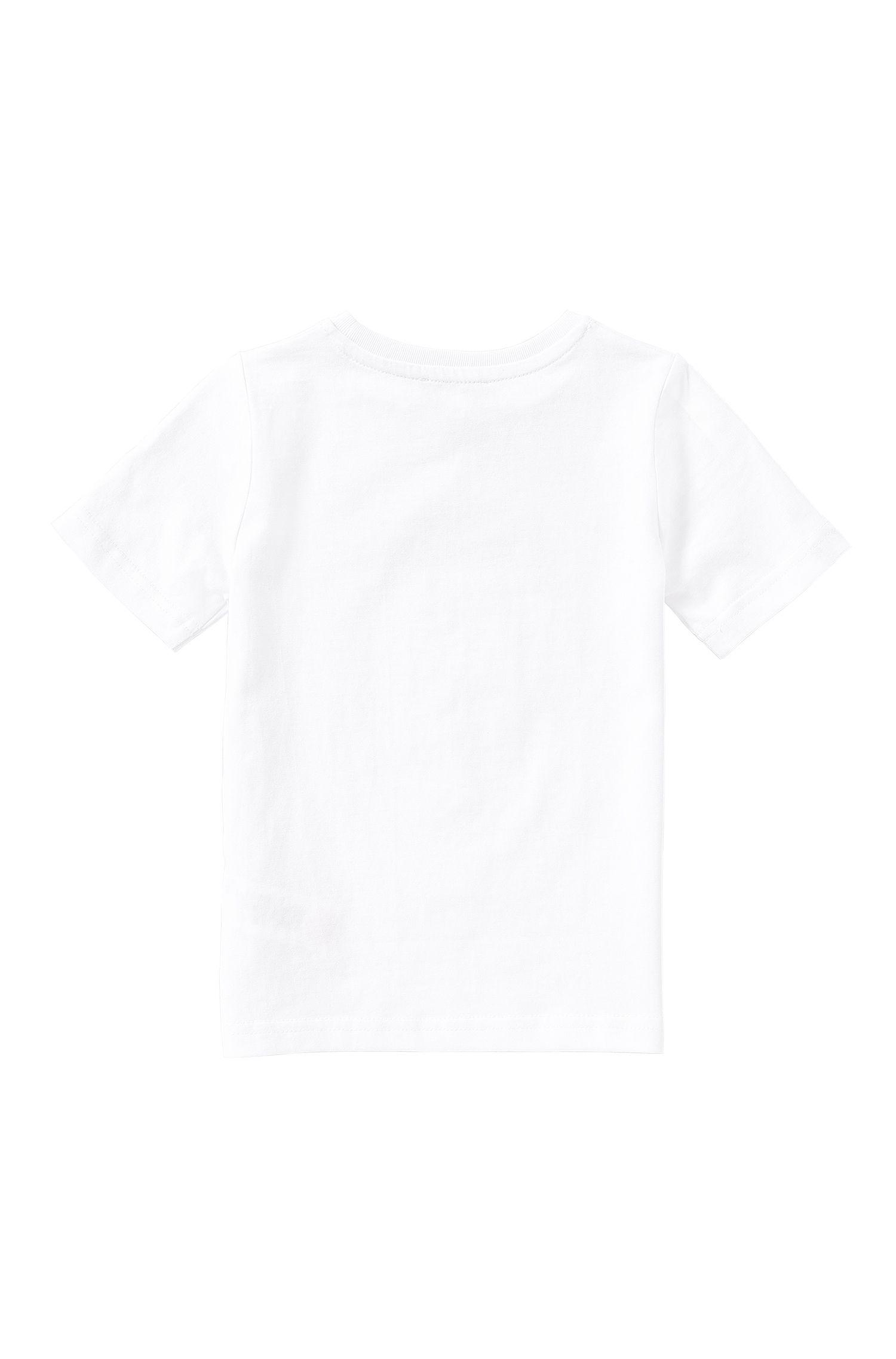 Slim-Fit Kids-T-Shirt aus elastischer Baumwolle: 'J25974'