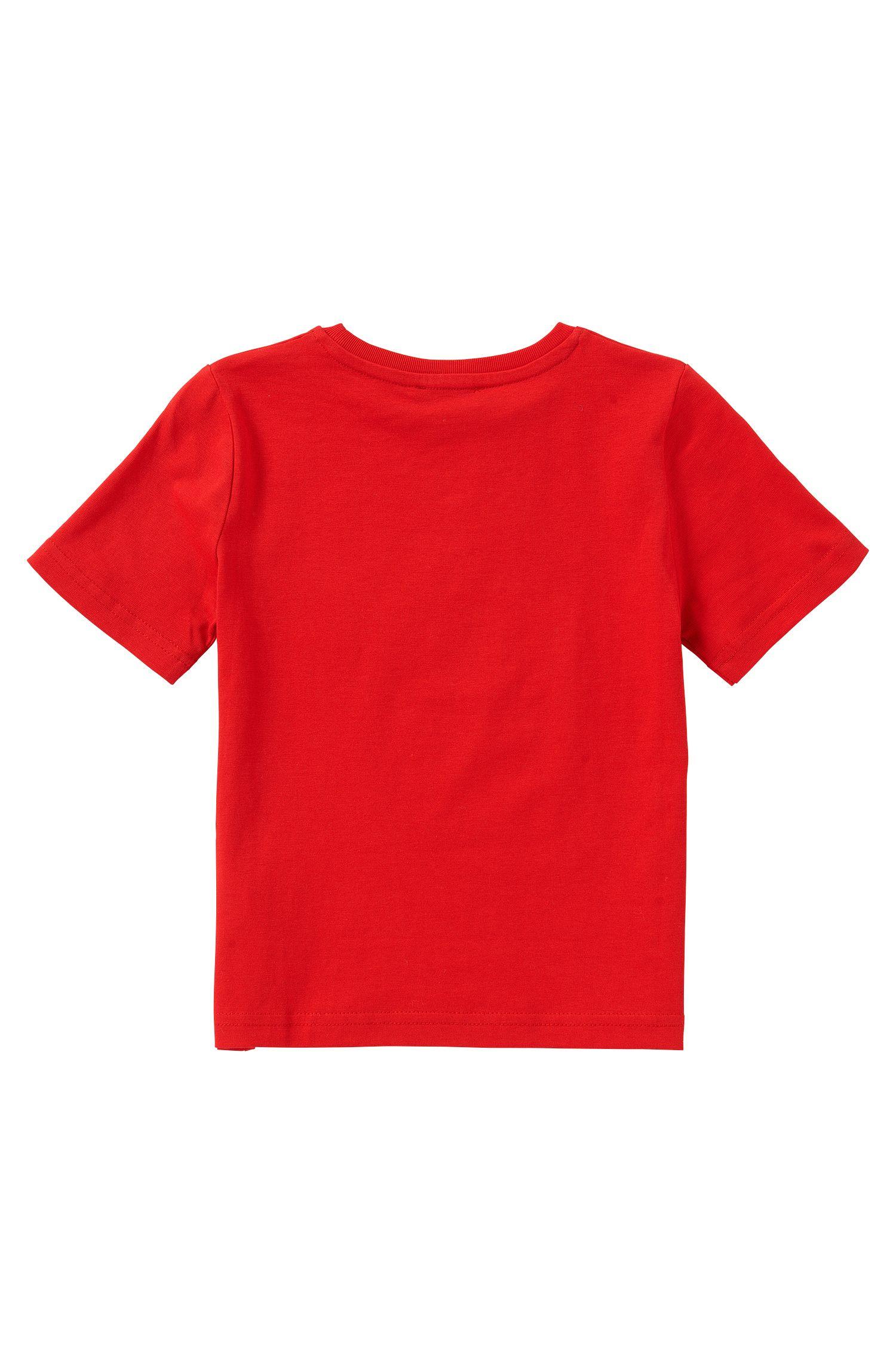 T-shirt Regular Fit en coton pour enfants: «J25U00»