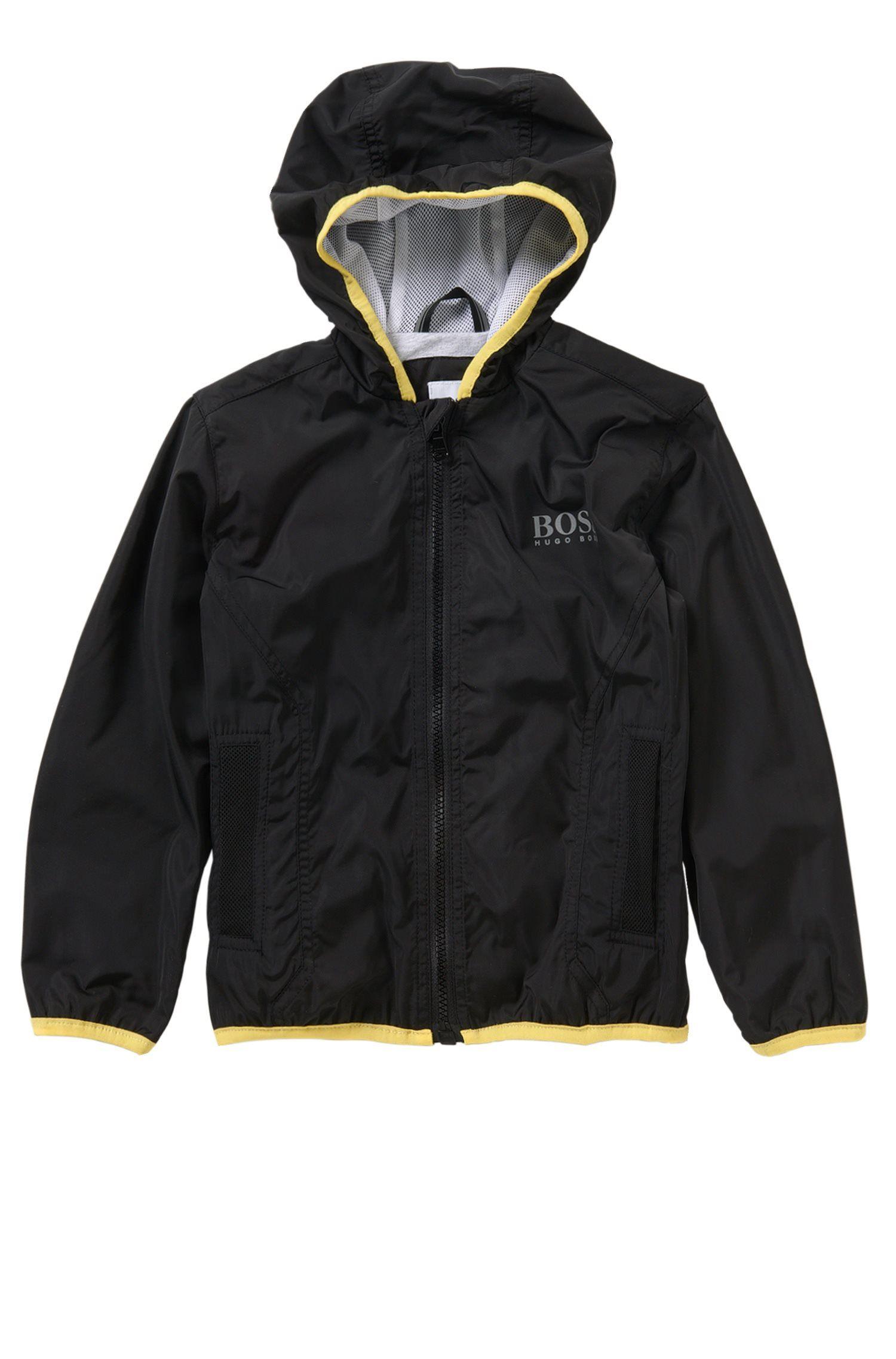 Kids' hooded jacket in stretch cotton blend: 'J26272'