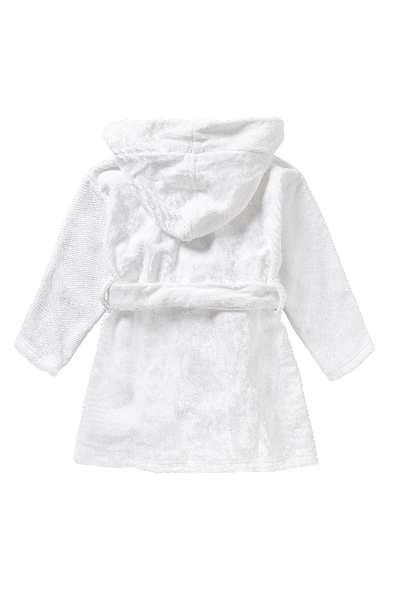 Peignoir pour enfant en coton: «J27060»