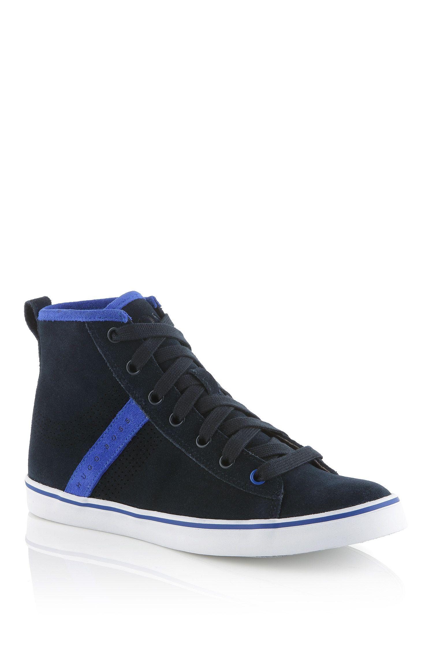 Kids-Sneaker ´J29080` aus Veloursleder