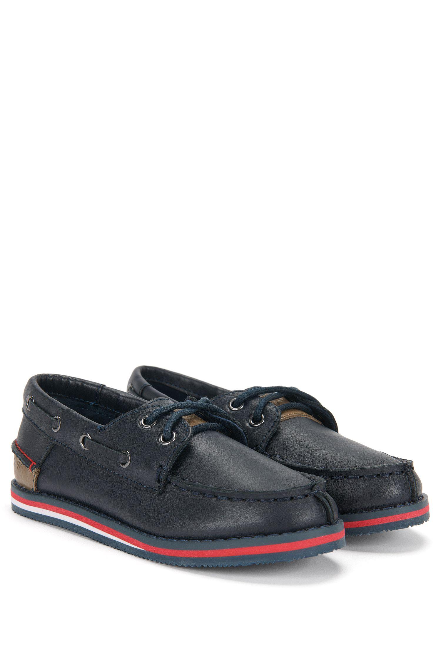 Kids-Bootsschuhe aus Leder: 'J29116'