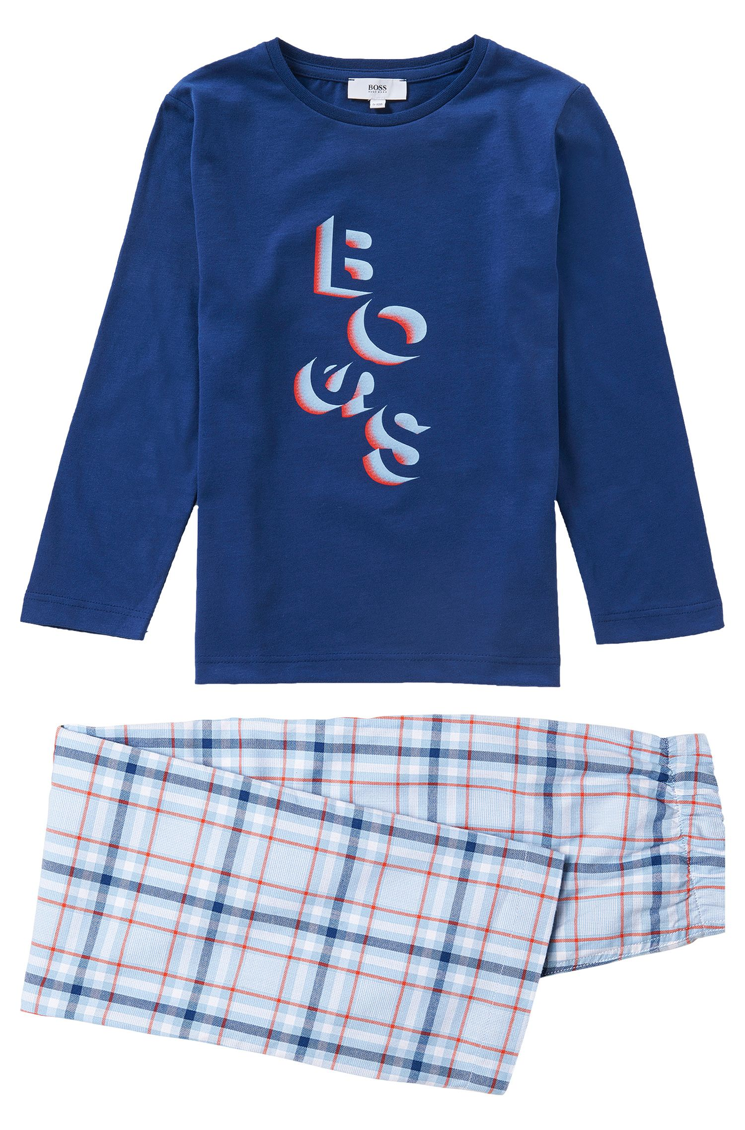 Pyjama van katoen: 'J2K038'